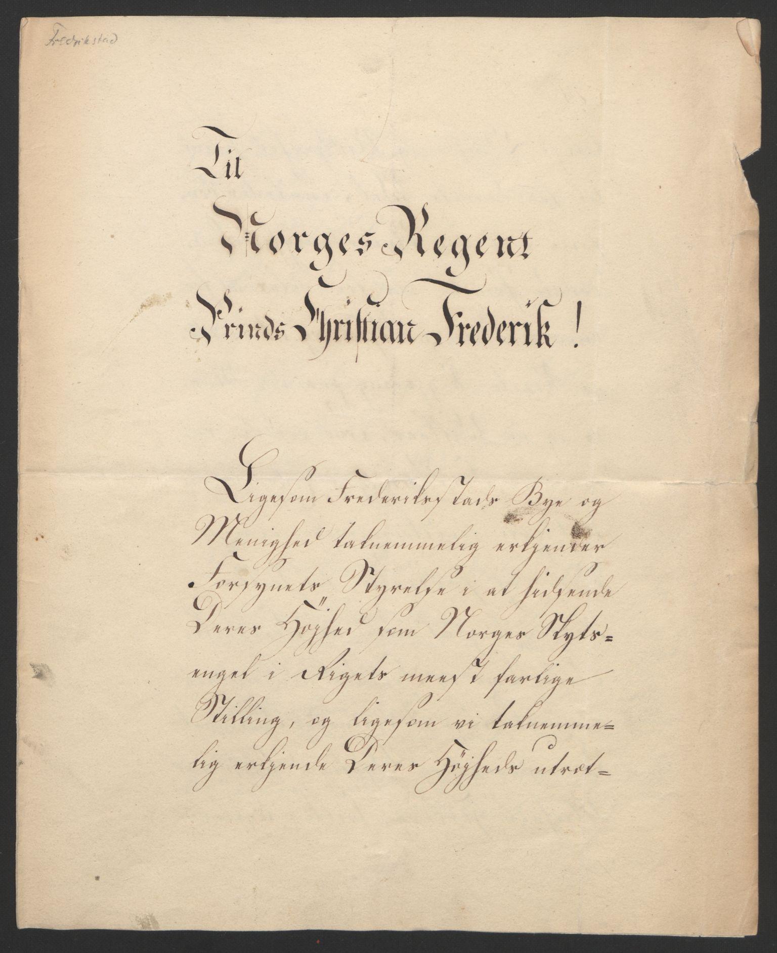 RA, Statsrådssekretariatet, D/Db/L0007: Fullmakter for Eidsvollsrepresentantene i 1814. , 1814, s. 16
