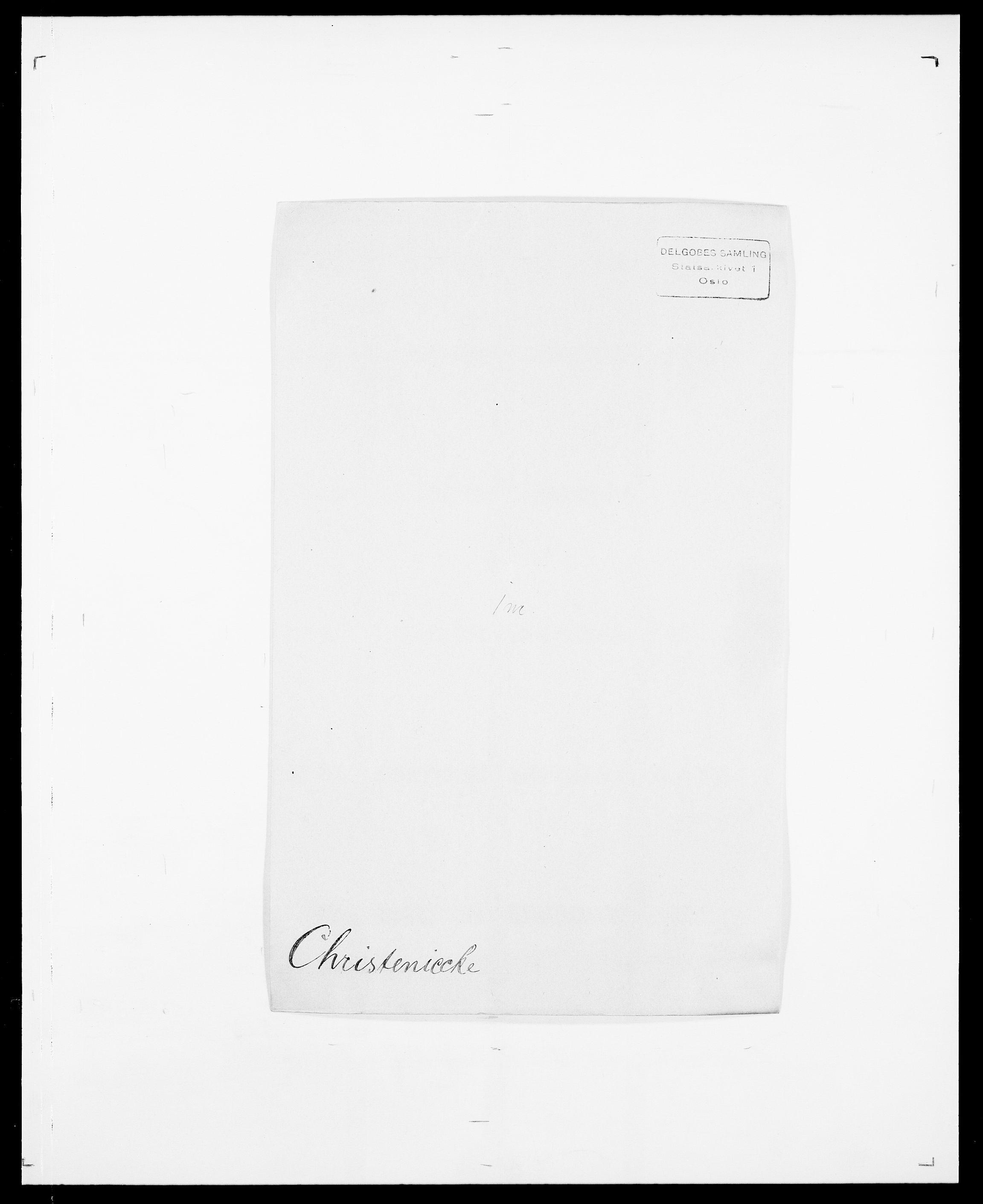 SAO, Delgobe, Charles Antoine - samling, D/Da/L0008: Capjon - Dagenbolt, s. 184