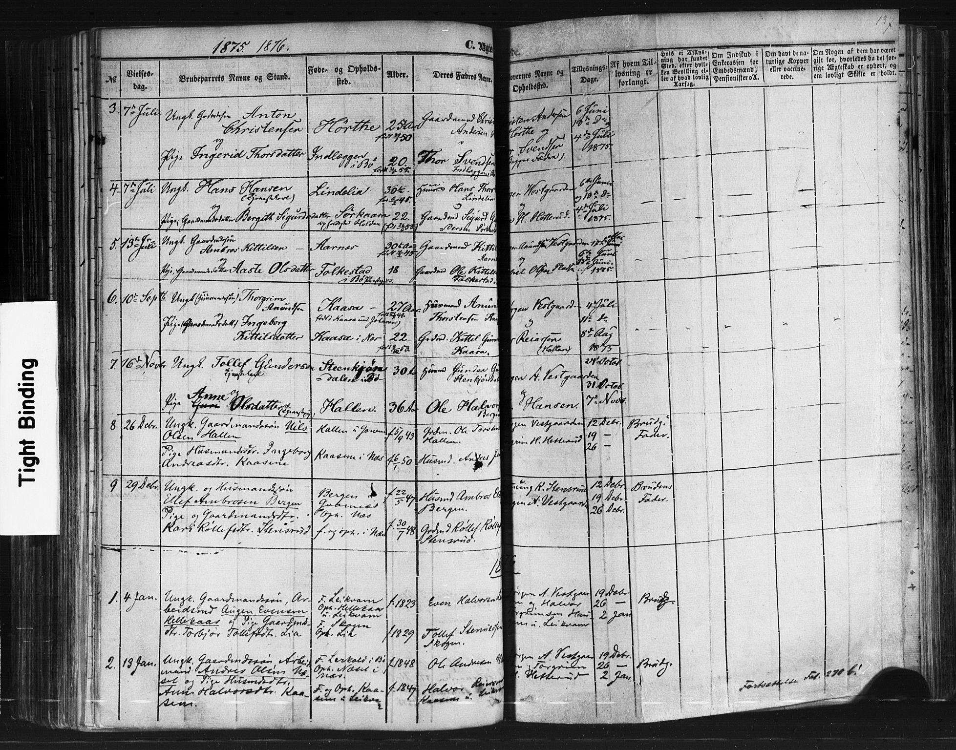 SAKO, Sauherad kirkebøker, F/Fb/L0001: Ministerialbok nr. II 1, 1851-1877, s. 137