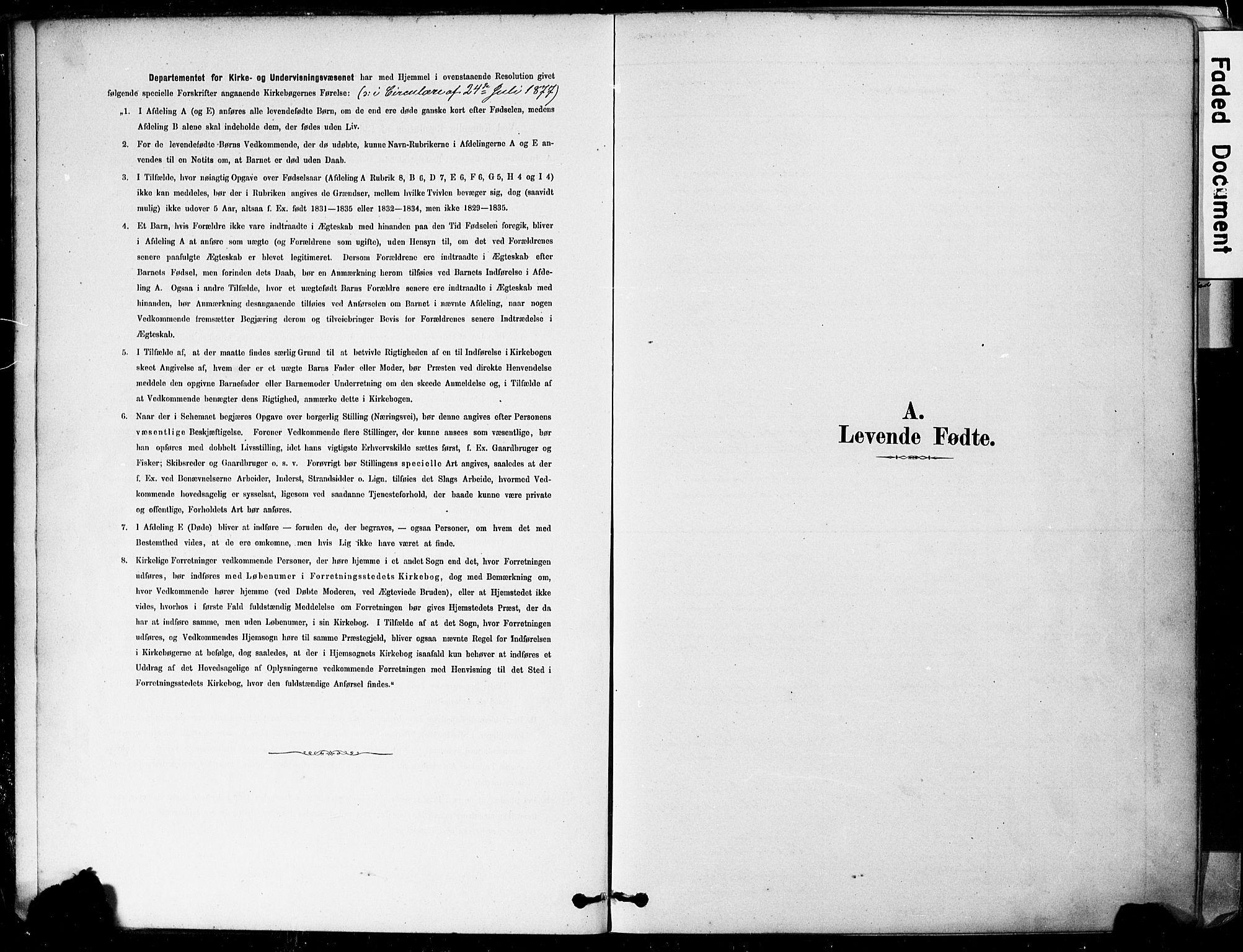SAKO, Botne kirkebøker, F/Fa/L0007: Ministerialbok nr. I 7, 1878-1910