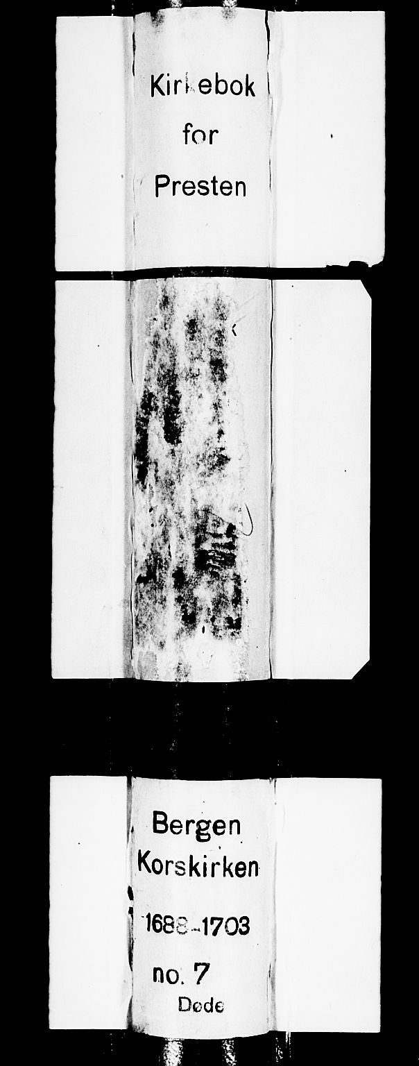 SAB, Korskirken Sokneprestembete, H/Haa/L0010: Ministerialbok nr. A 10, 1688-1703
