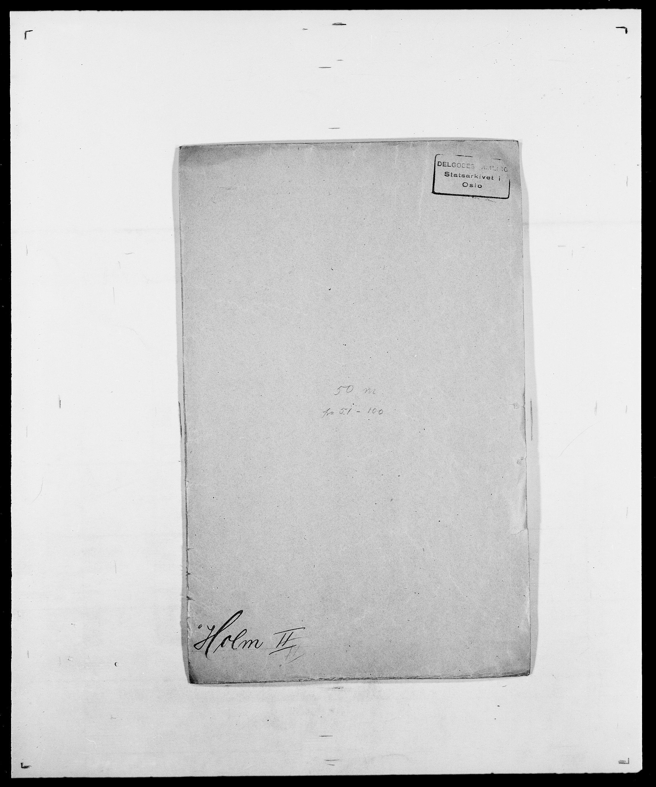 SAO, Delgobe, Charles Antoine - samling, D/Da/L0018: Hoch - Howert, s. 305