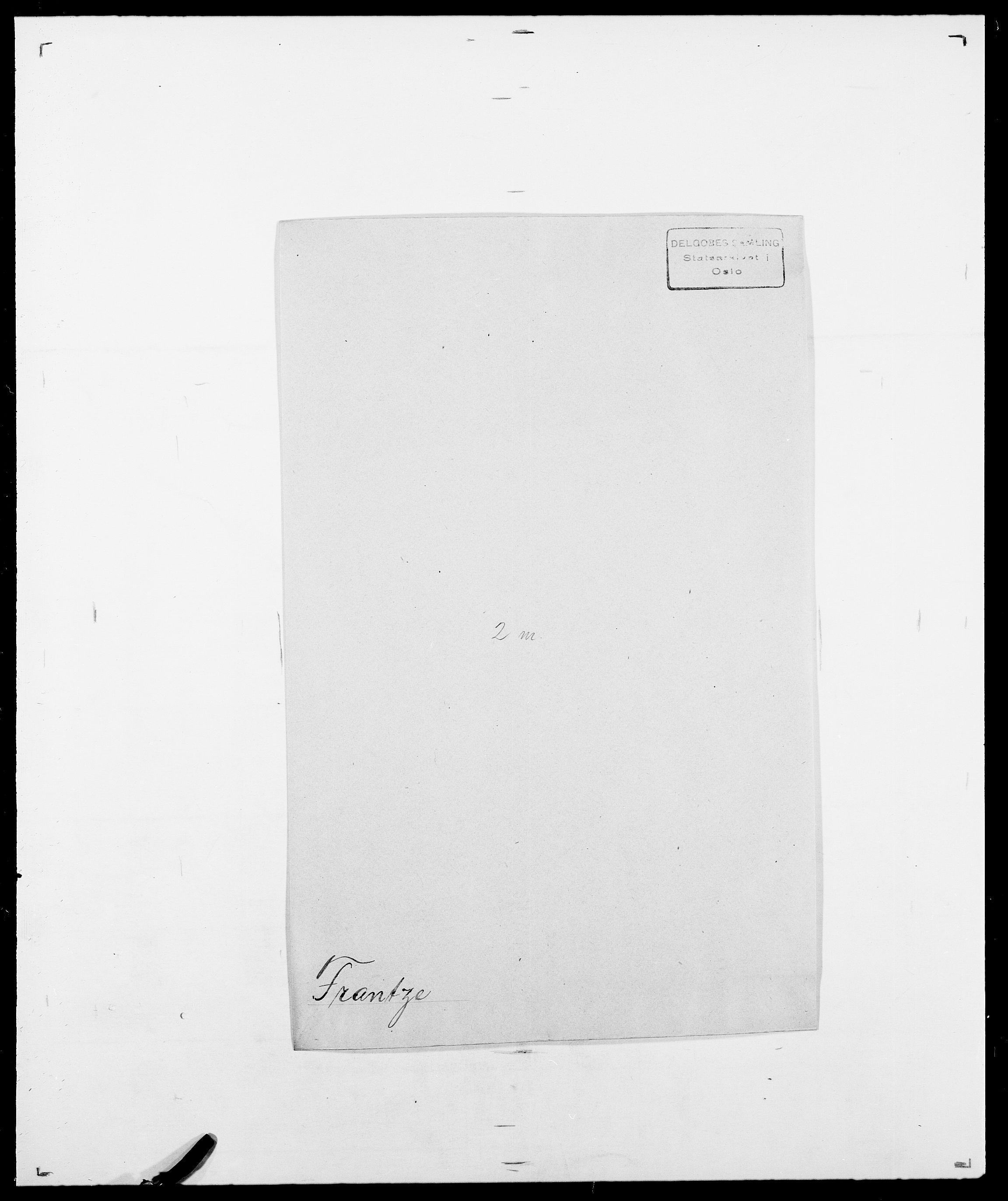 SAO, Delgobe, Charles Antoine - samling, D/Da/L0012: Flor, Floer, Flohr - Fritzner, s. 704