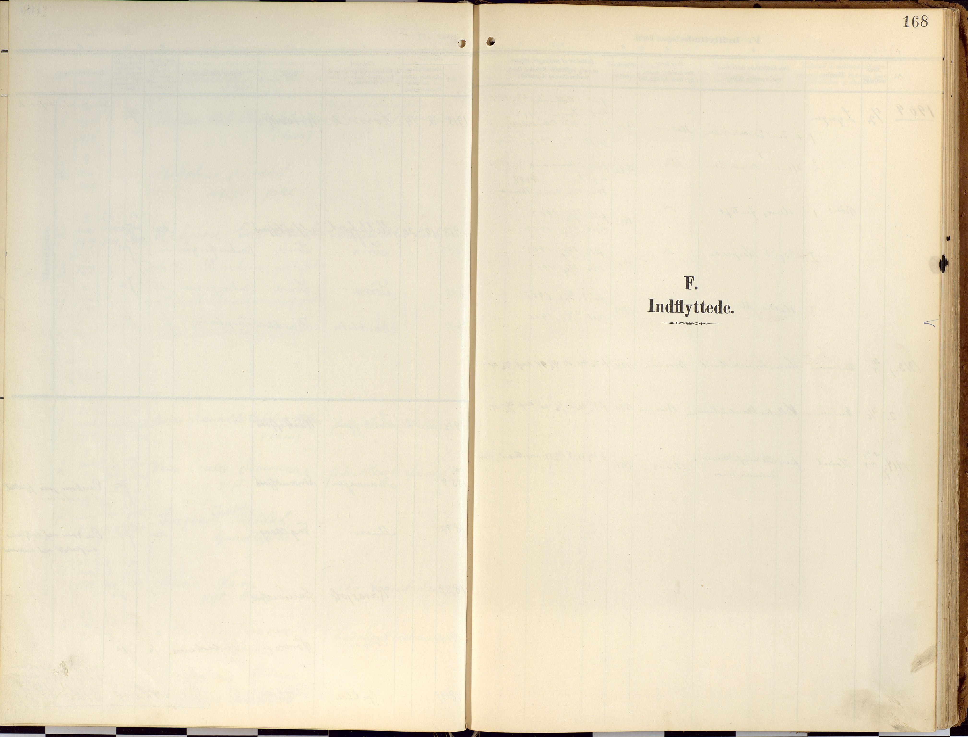 SATØ, Loppa sokneprestkontor, H/Ha/L0010kirke: Ministerialbok nr. 10, 1907-1922, s. 168