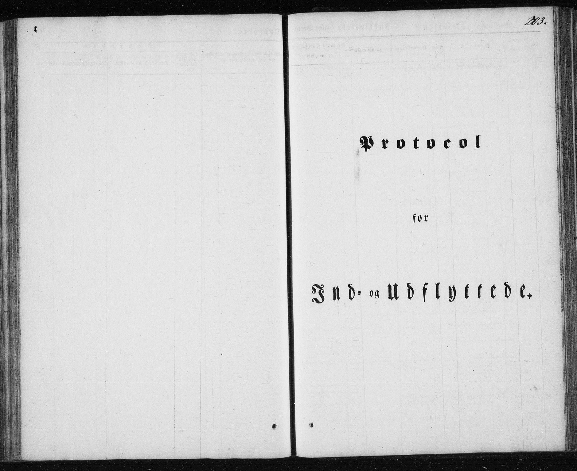 SAT, Ministerialprotokoller, klokkerbøker og fødselsregistre - Nordland, 827/L0391: Ministerialbok nr. 827A03, 1842-1852, s. 203