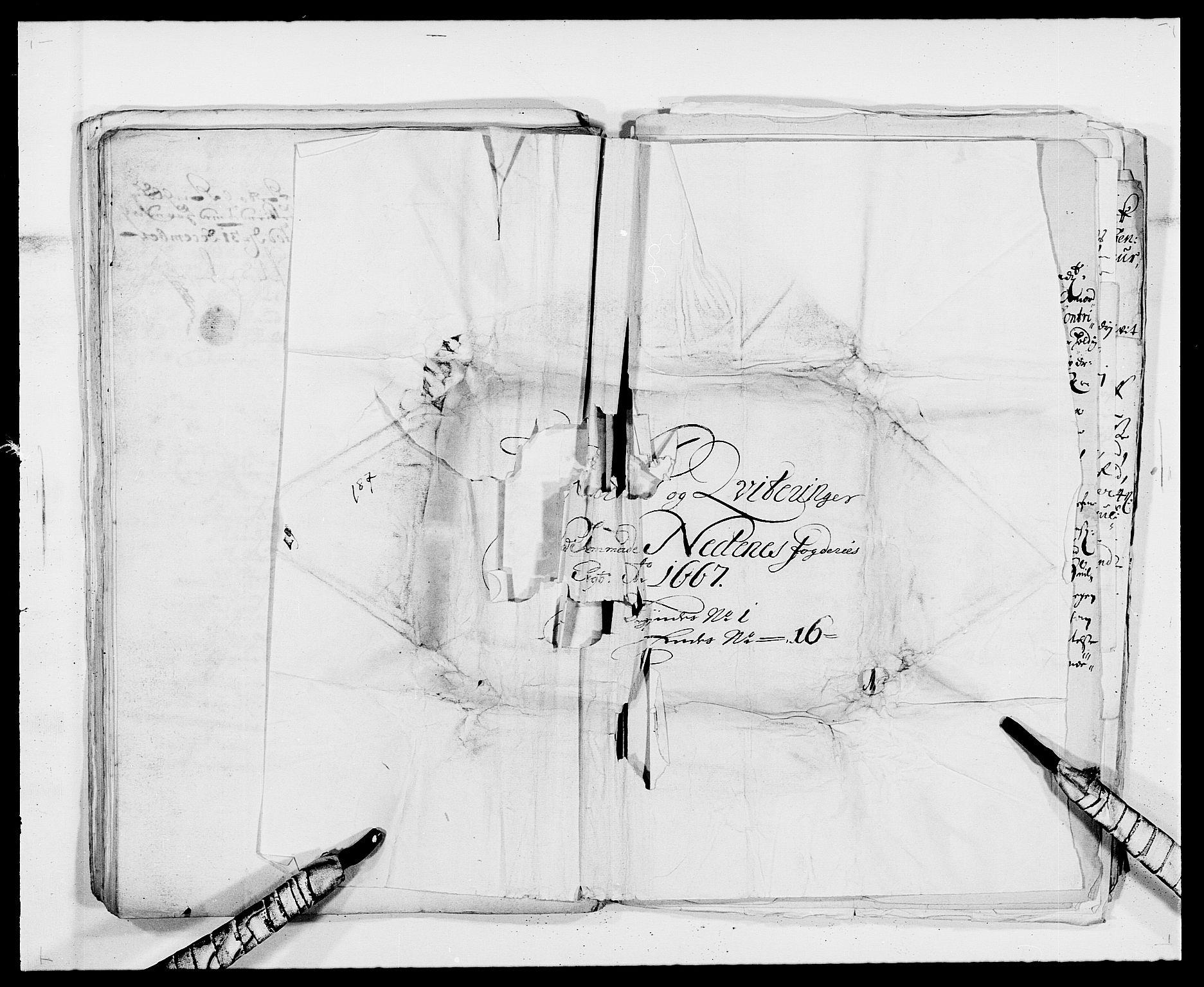 RA, Rentekammeret inntil 1814, Reviderte regnskaper, Fogderegnskap, R39/L2298: Fogderegnskap Nedenes, 1667-1669, s. 18