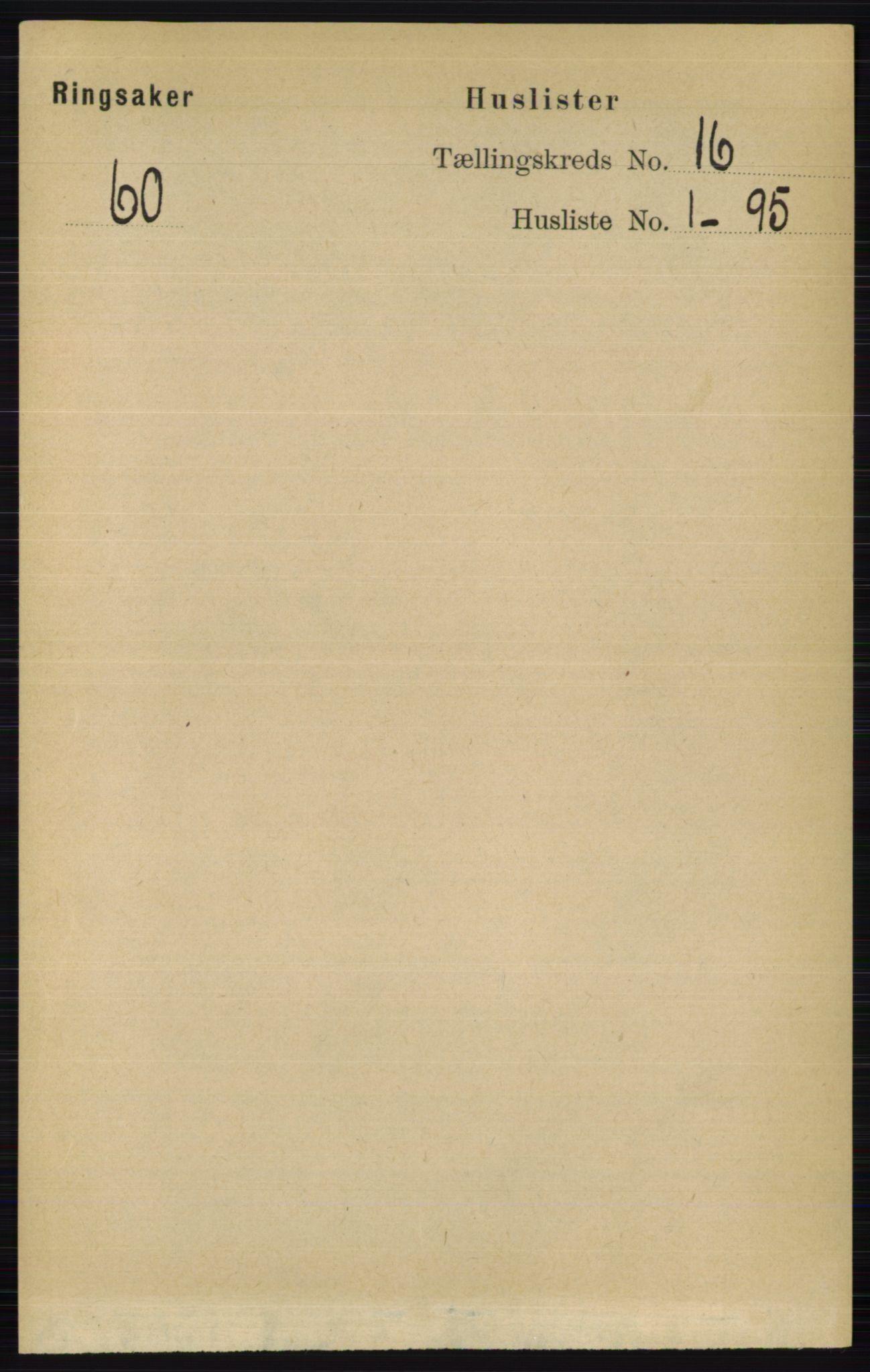 RA, Folketelling 1891 for 0412 Ringsaker herred, 1891, s. 8986
