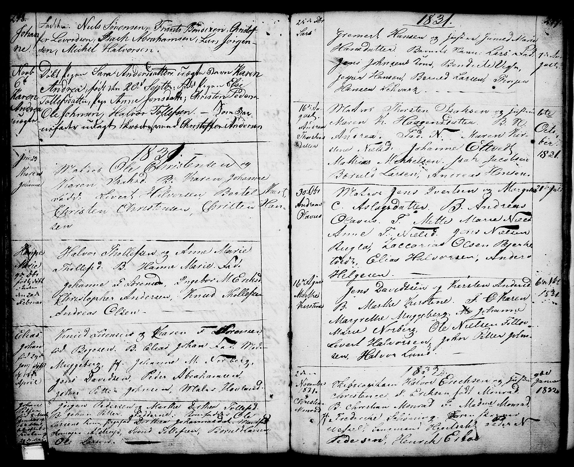 SAKO, Porsgrunn kirkebøker , F/Fa/L0001: Ministerialbok nr. 1, 1764-1814, s. 248-249