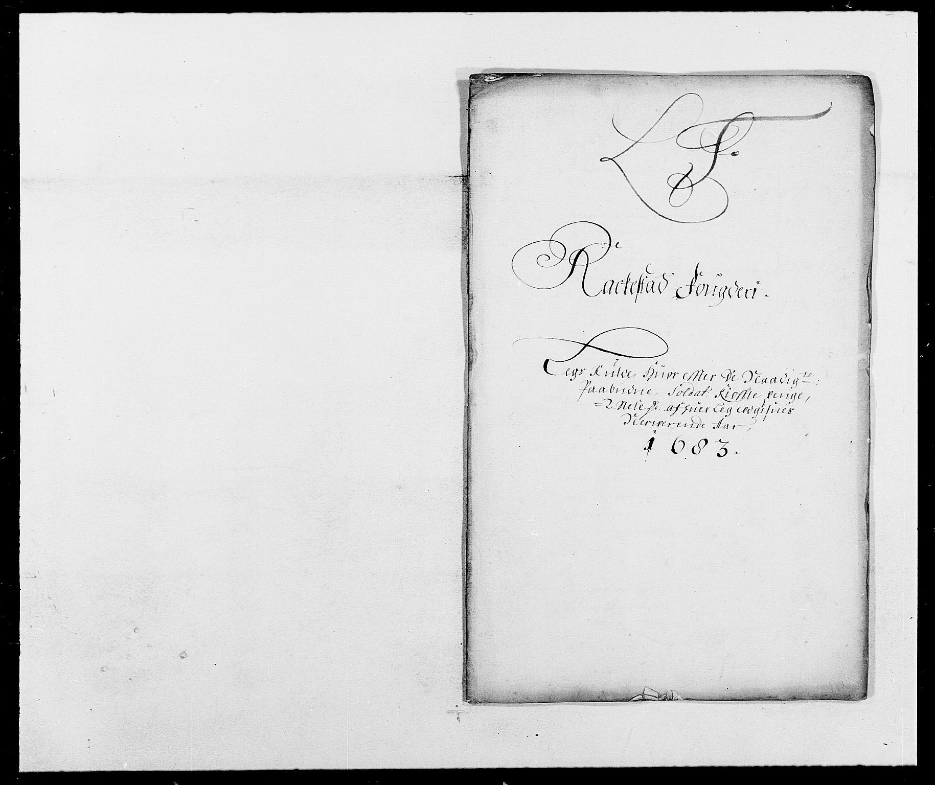 RA, Rentekammeret inntil 1814, Reviderte regnskaper, Fogderegnskap, R05/L0274: Fogderegnskap Rakkestad, 1683-1684, s. 148