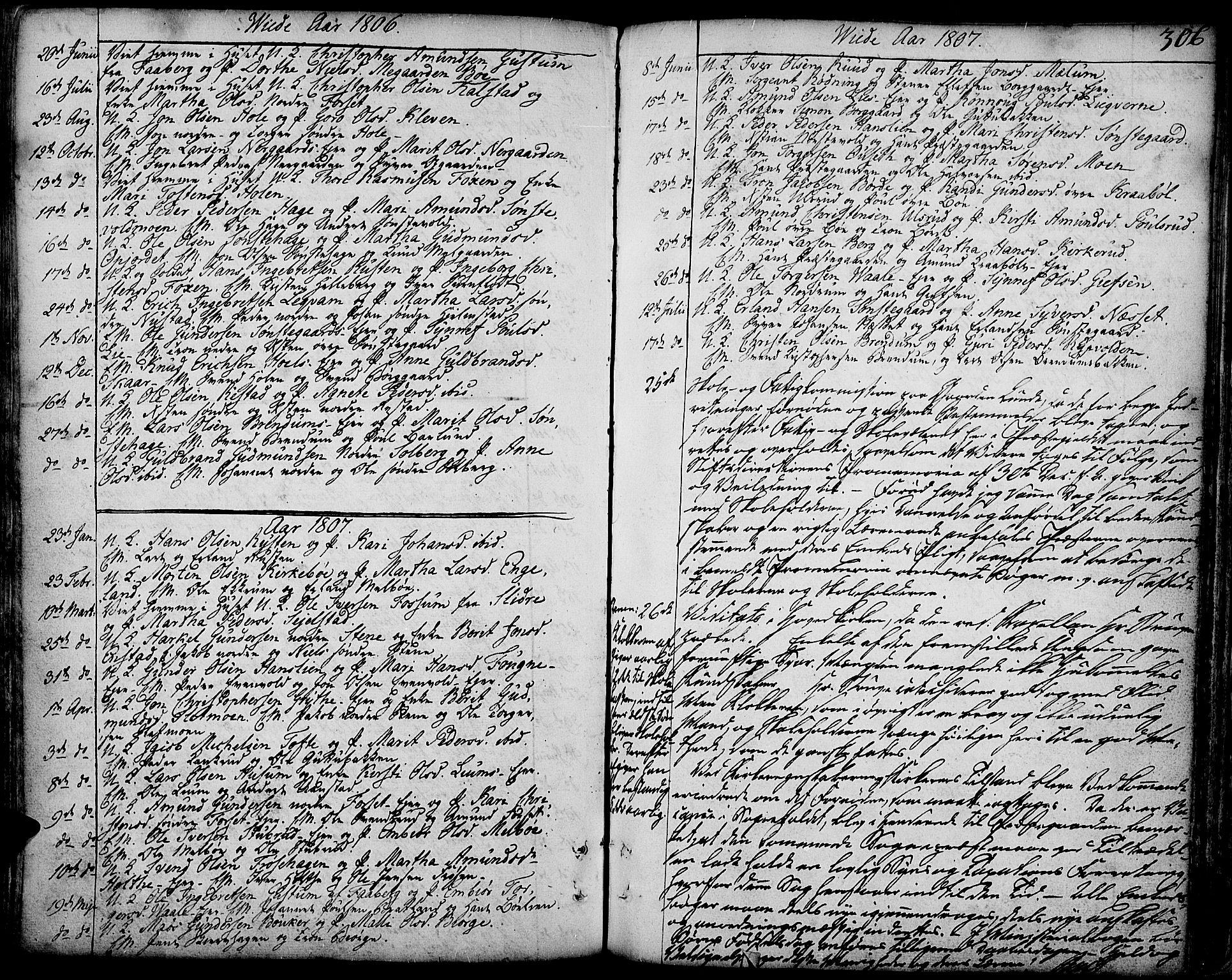 SAH, Gausdal prestekontor, Ministerialbok nr. 3, 1758-1809, s. 306