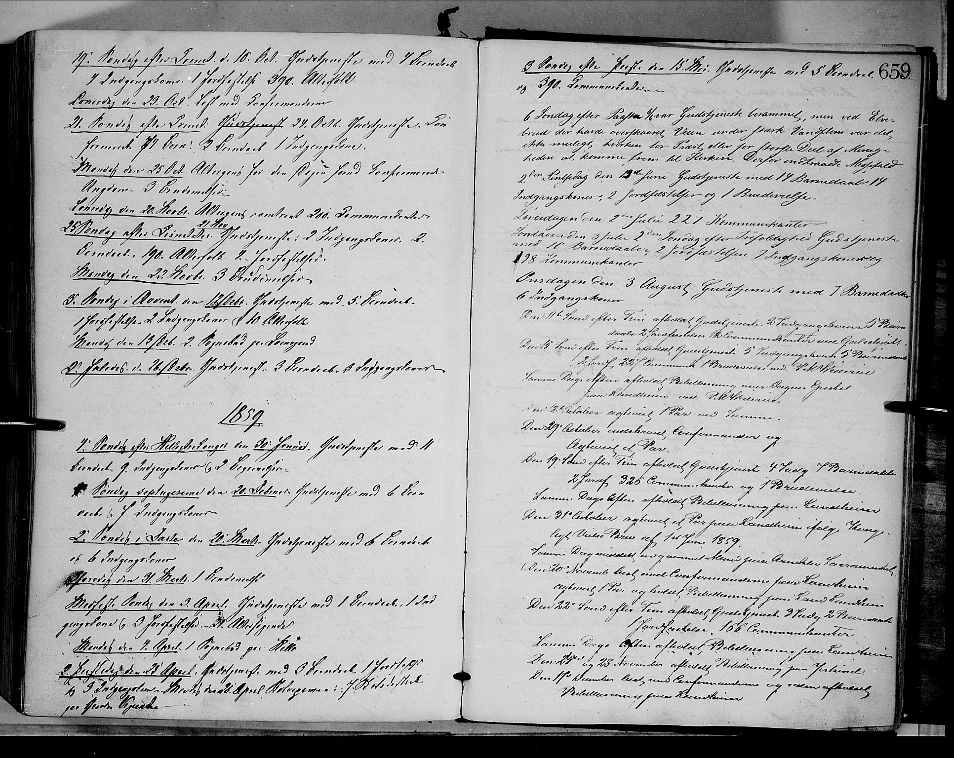 SAH, Dovre prestekontor, Ministerialbok nr. 1, 1854-1878, s. 659