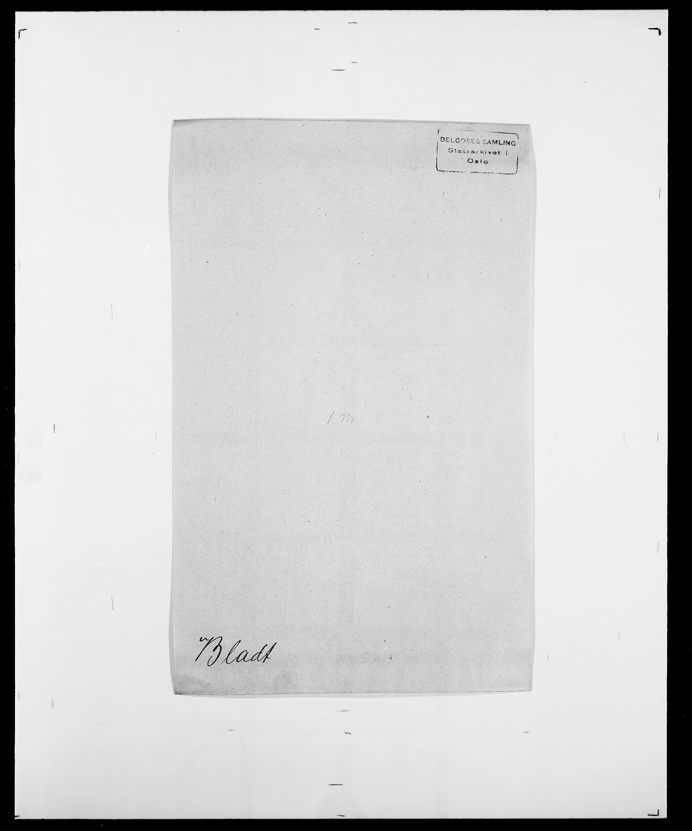 SAO, Delgobe, Charles Antoine - samling, D/Da/L0004: Bergendahl - Blære, s. 519