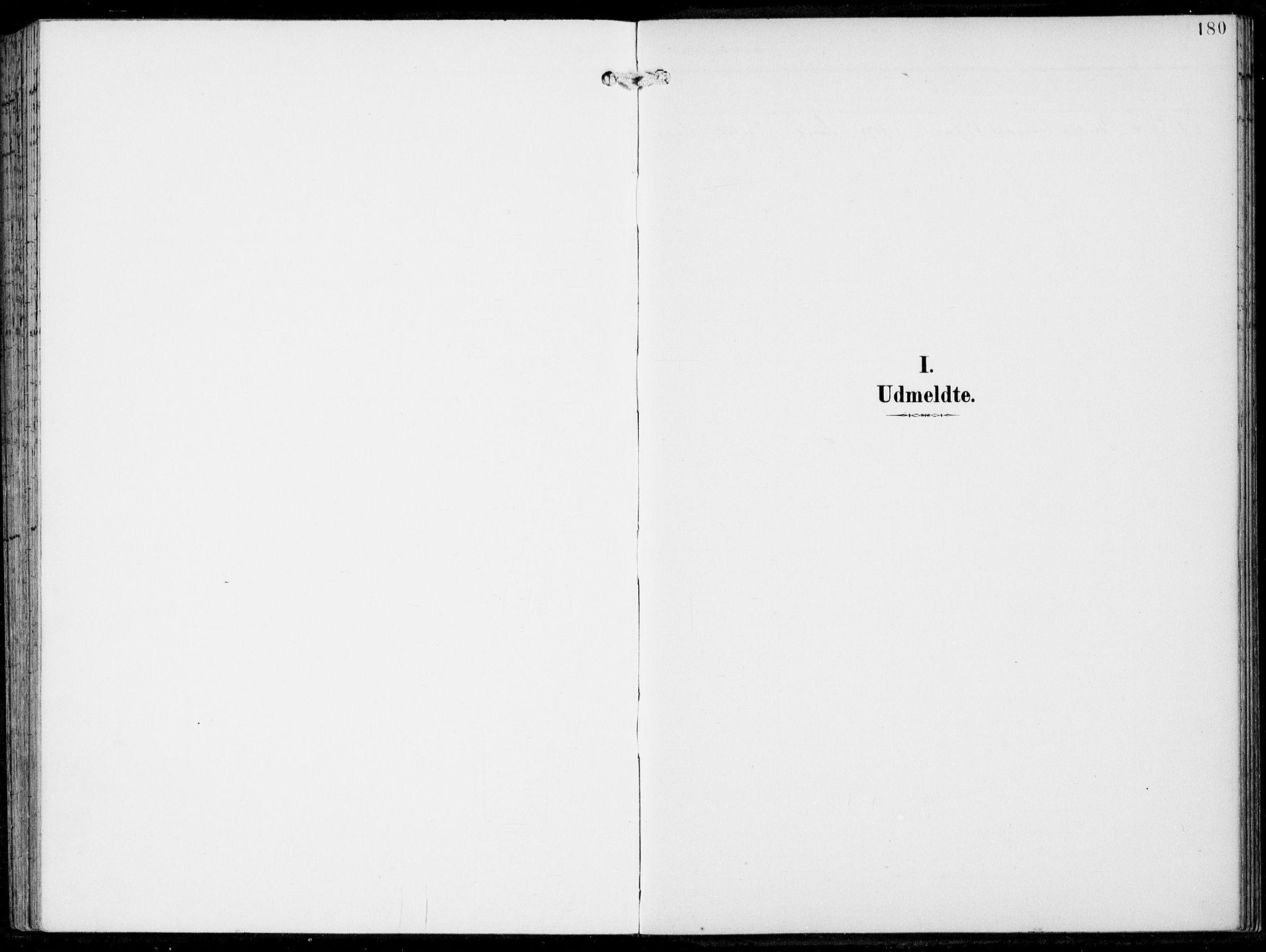SAB, Haus Sokneprestembete, H/Haa: Ministerialbok nr. B  2, 1899-1912, s. 180