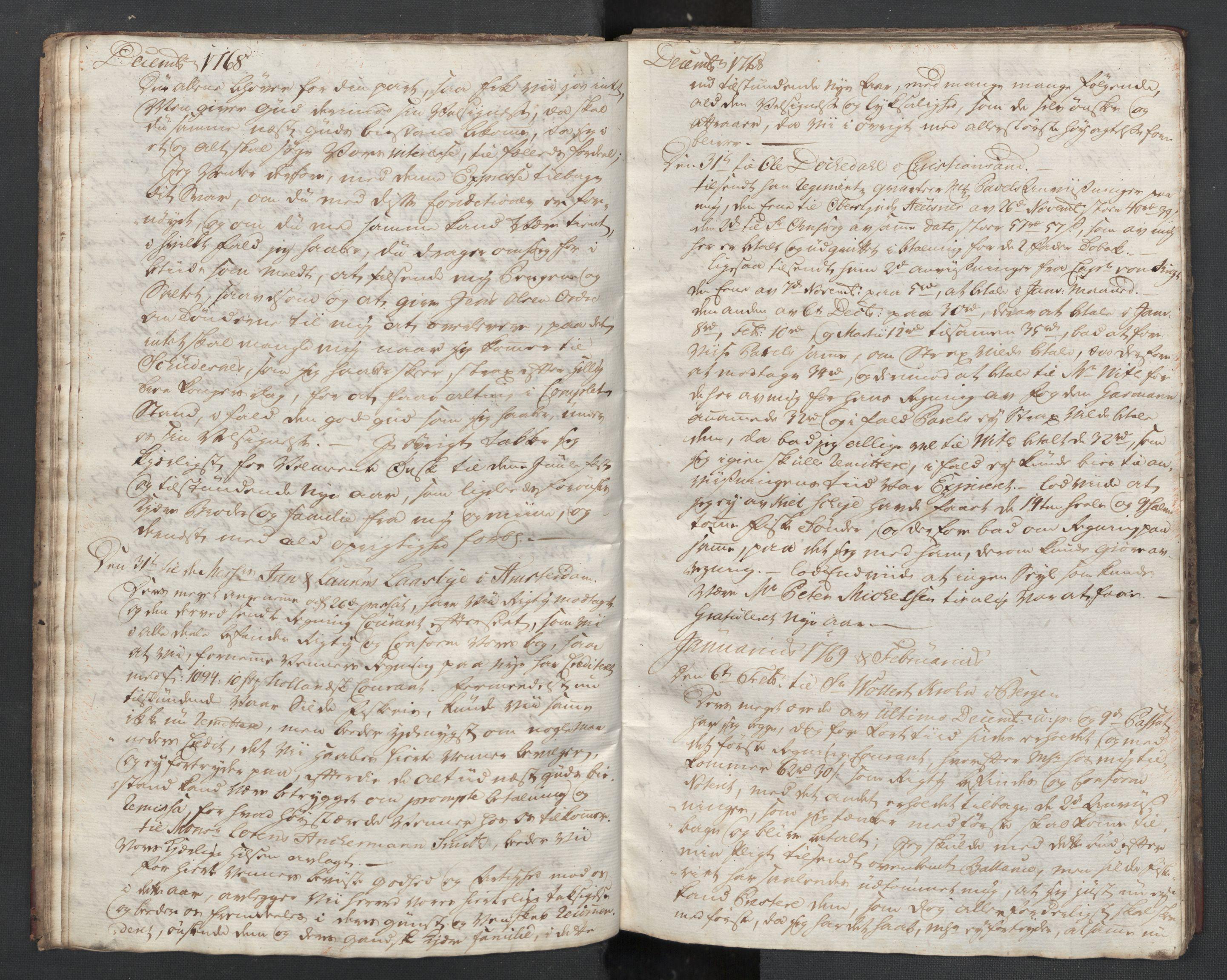 SAST, Pa 0003 - Ploug & Sundt, handelshuset, B/L0001: Kopibok, 1768-1770, s. 11