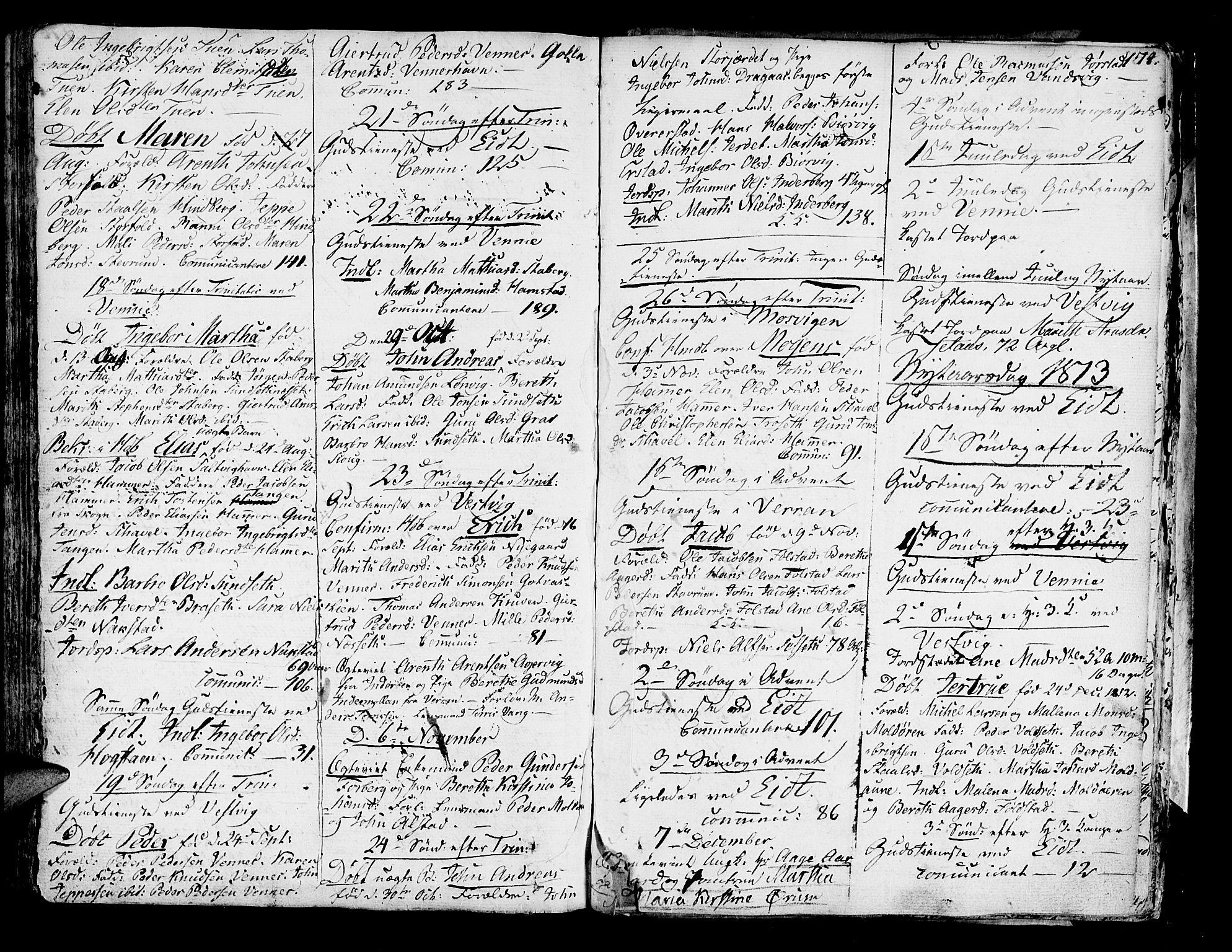 SAT, Ministerialprotokoller, klokkerbøker og fødselsregistre - Nord-Trøndelag, 722/L0216: Ministerialbok nr. 722A03, 1756-1816, s. 174