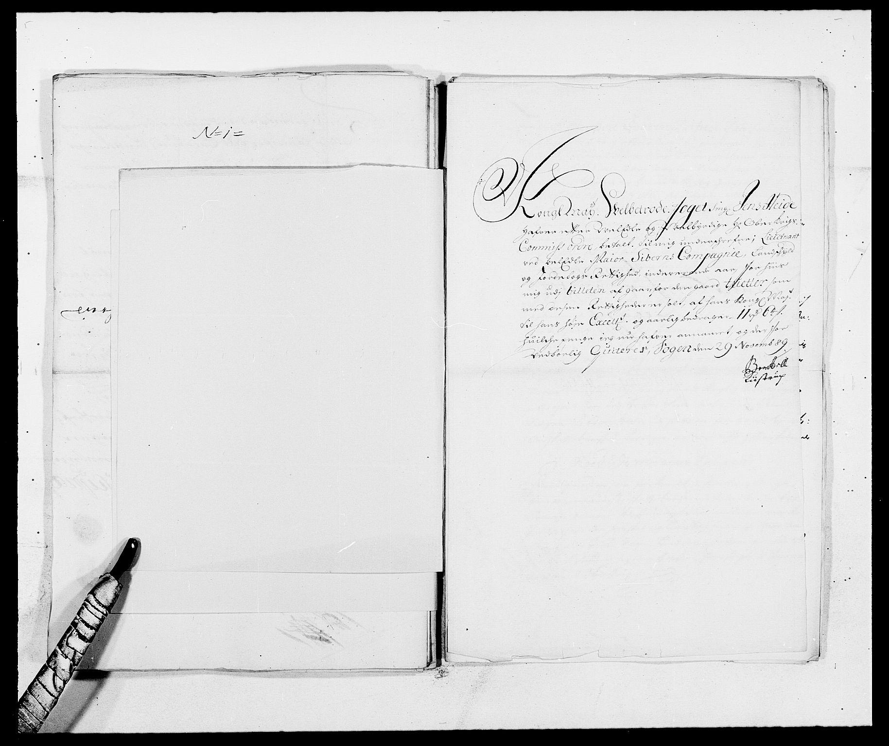 RA, Rentekammeret inntil 1814, Reviderte regnskaper, Fogderegnskap, R09/L0436: Fogderegnskap Follo, 1685-1691, s. 171