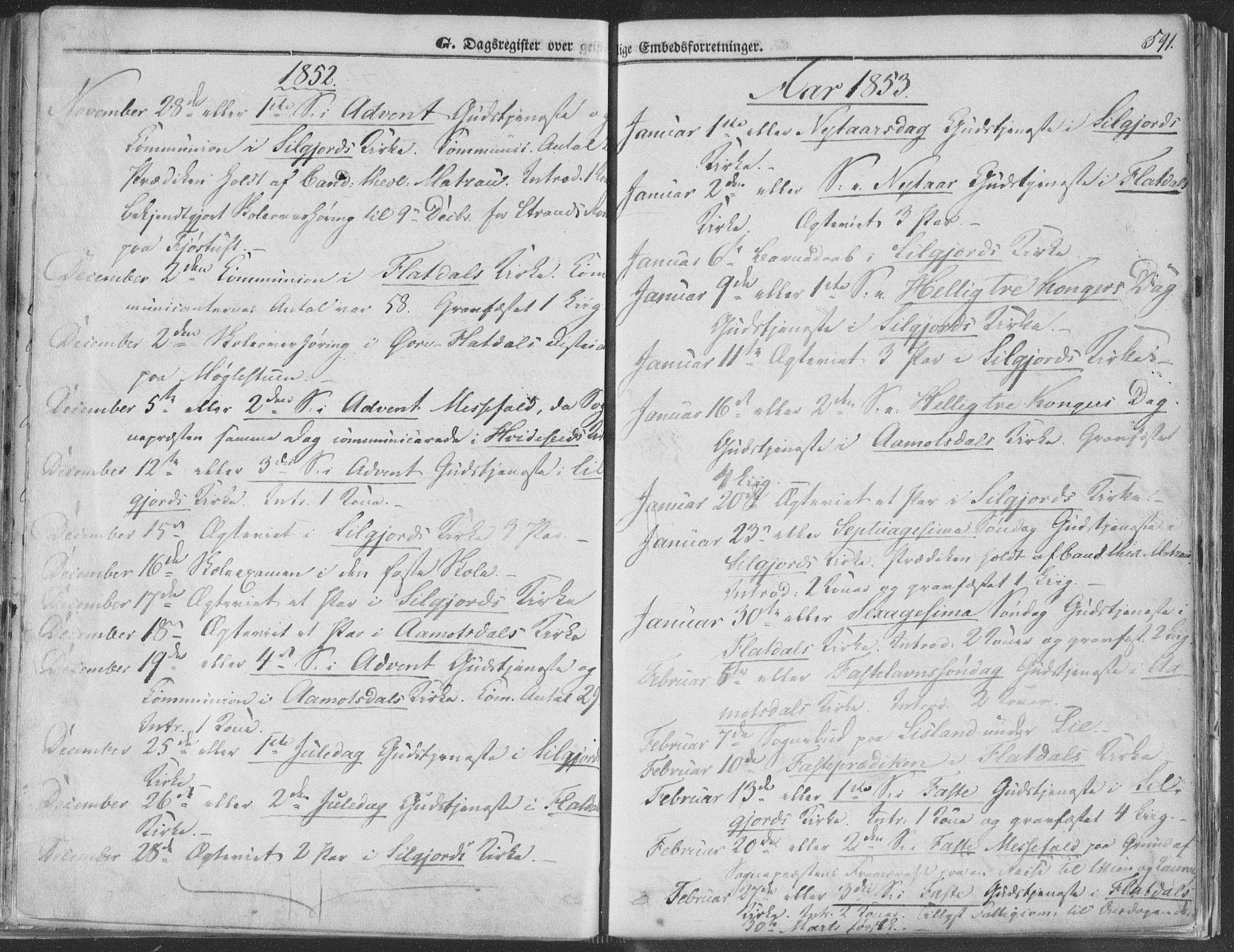 SAKO, Seljord kirkebøker, F/Fa/L012b: Ministerialbok nr. I 12B, 1850-1865, s. 591
