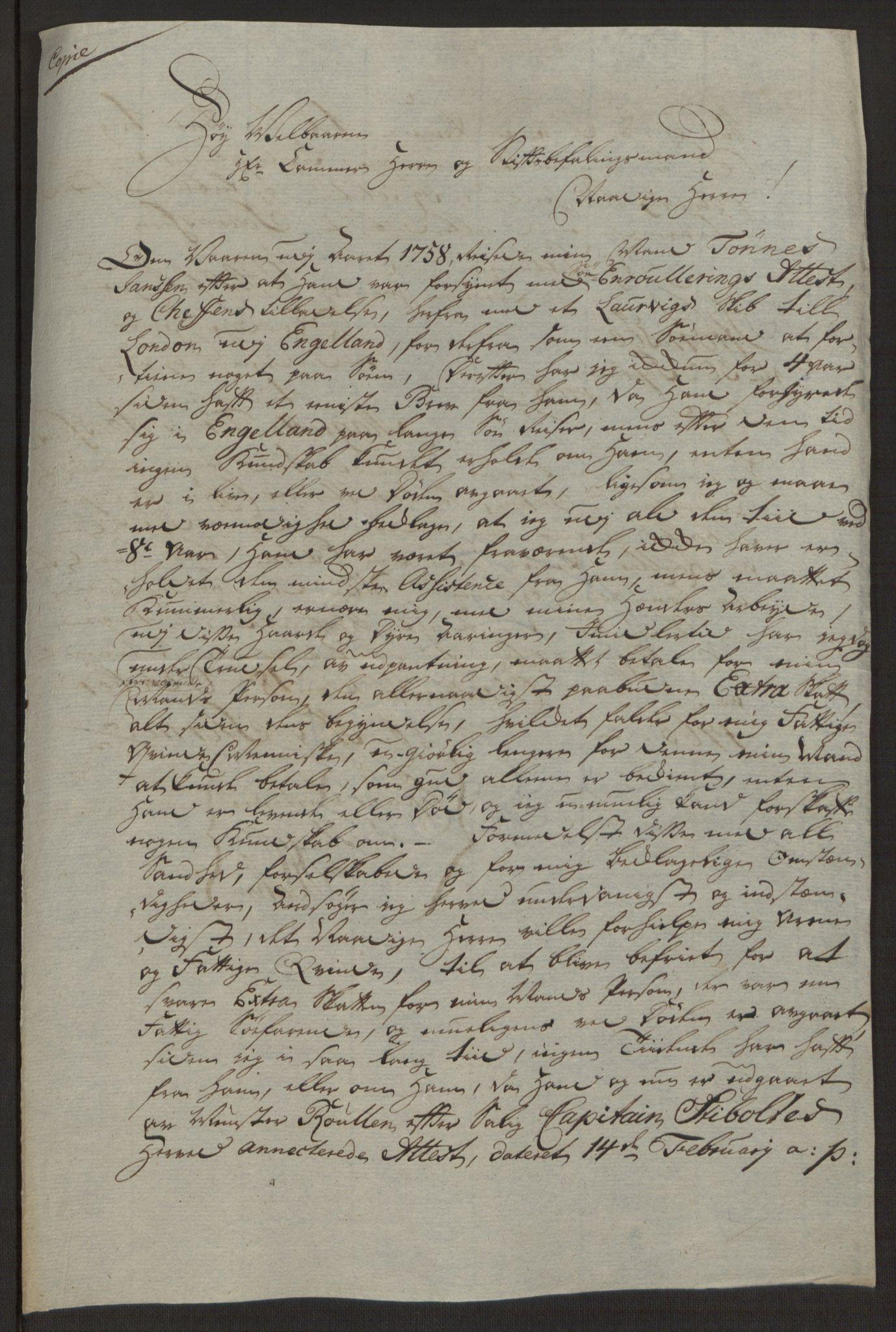RA, Rentekammeret inntil 1814, Reviderte regnskaper, Byregnskaper, R/Rg/L0144: [G4] Kontribusjonsregnskap, 1762-1767, s. 408