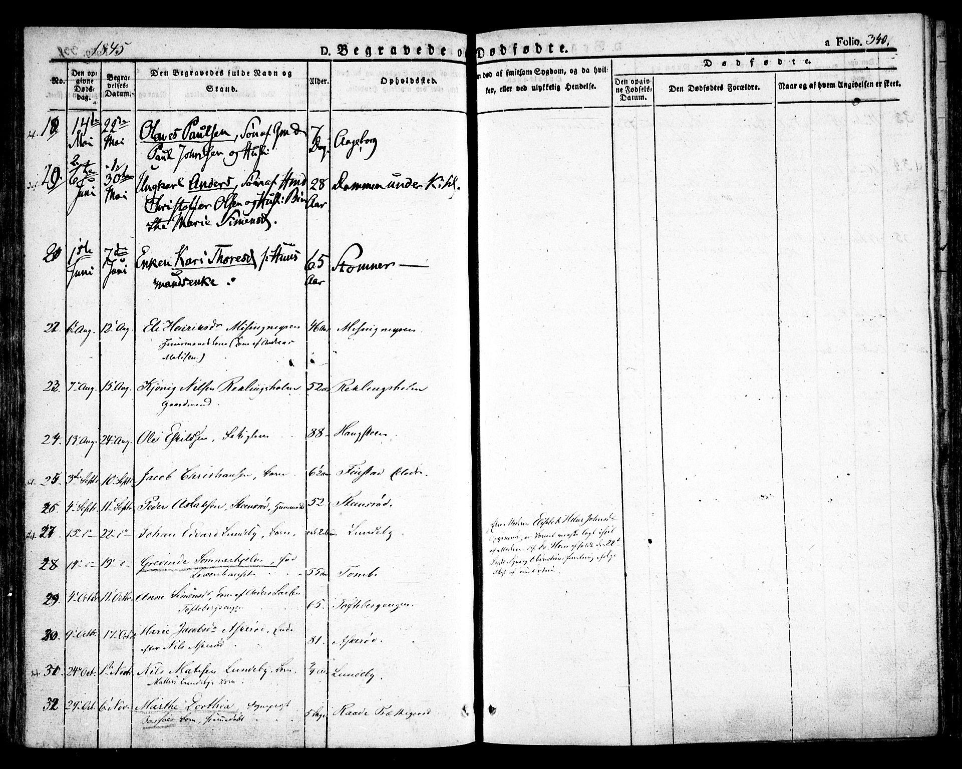 SAO, Råde prestekontor kirkebøker, F/Fa/L0005: Ministerialbok nr. 5, 1830-1853, s. 340