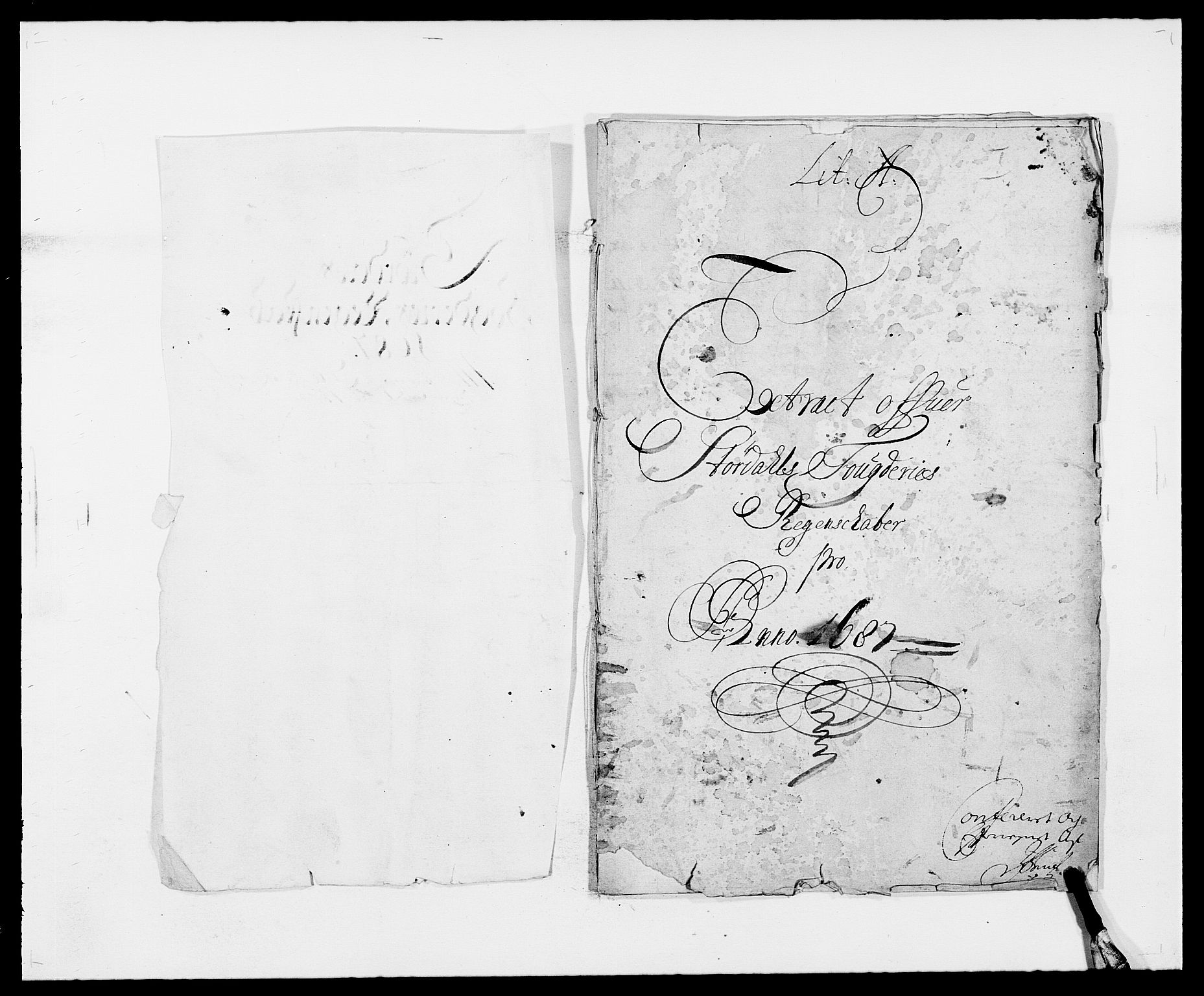 RA, Rentekammeret inntil 1814, Reviderte regnskaper, Fogderegnskap, R62/L4183: Fogderegnskap Stjørdal og Verdal, 1687-1689, s. 3