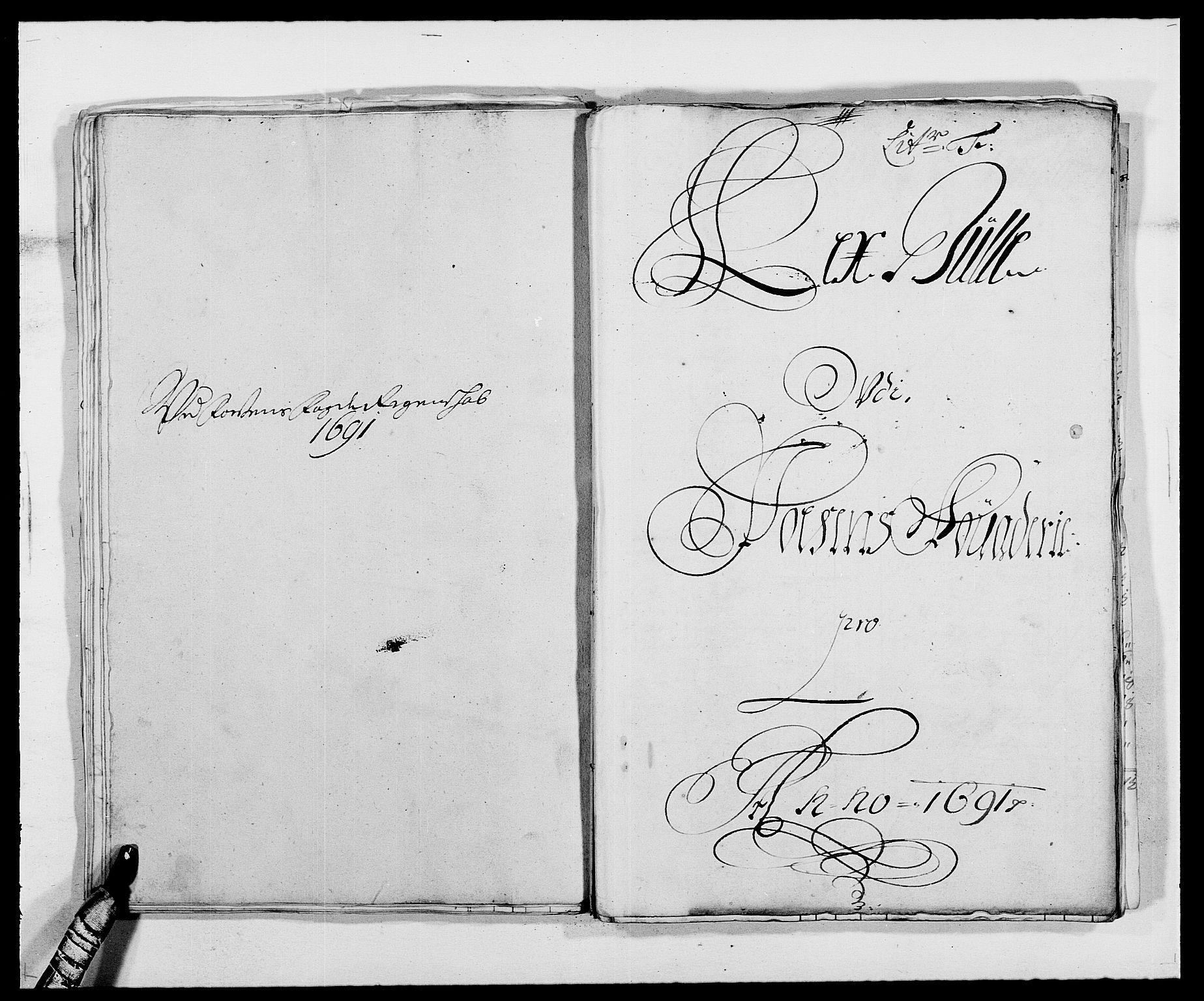 RA, Rentekammeret inntil 1814, Reviderte regnskaper, Fogderegnskap, R57/L3848: Fogderegnskap Fosen, 1690-1691, s. 243