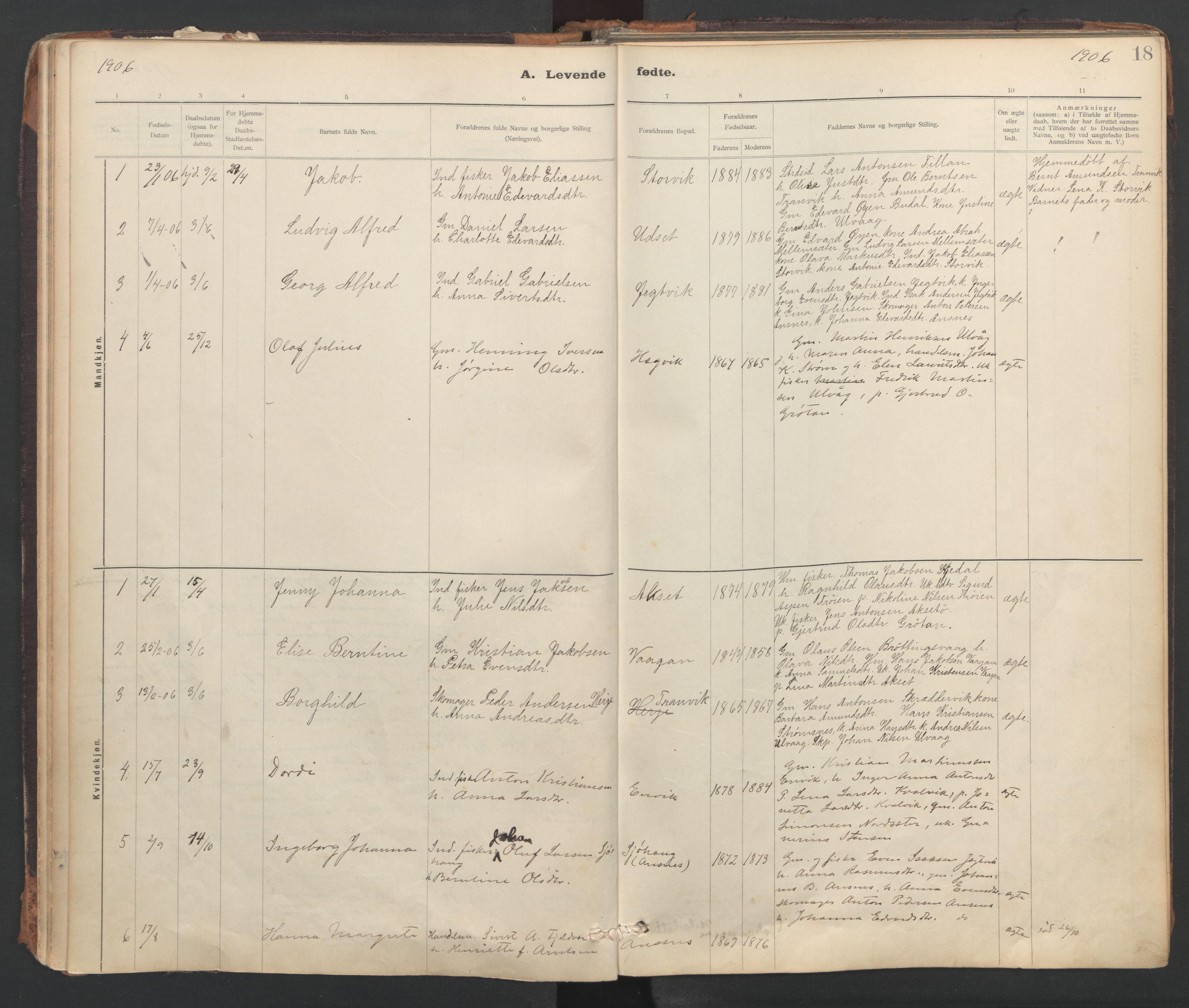 SAT, Ministerialprotokoller, klokkerbøker og fødselsregistre - Sør-Trøndelag, 637/L0559: Ministerialbok nr. 637A02, 1899-1923, s. 18