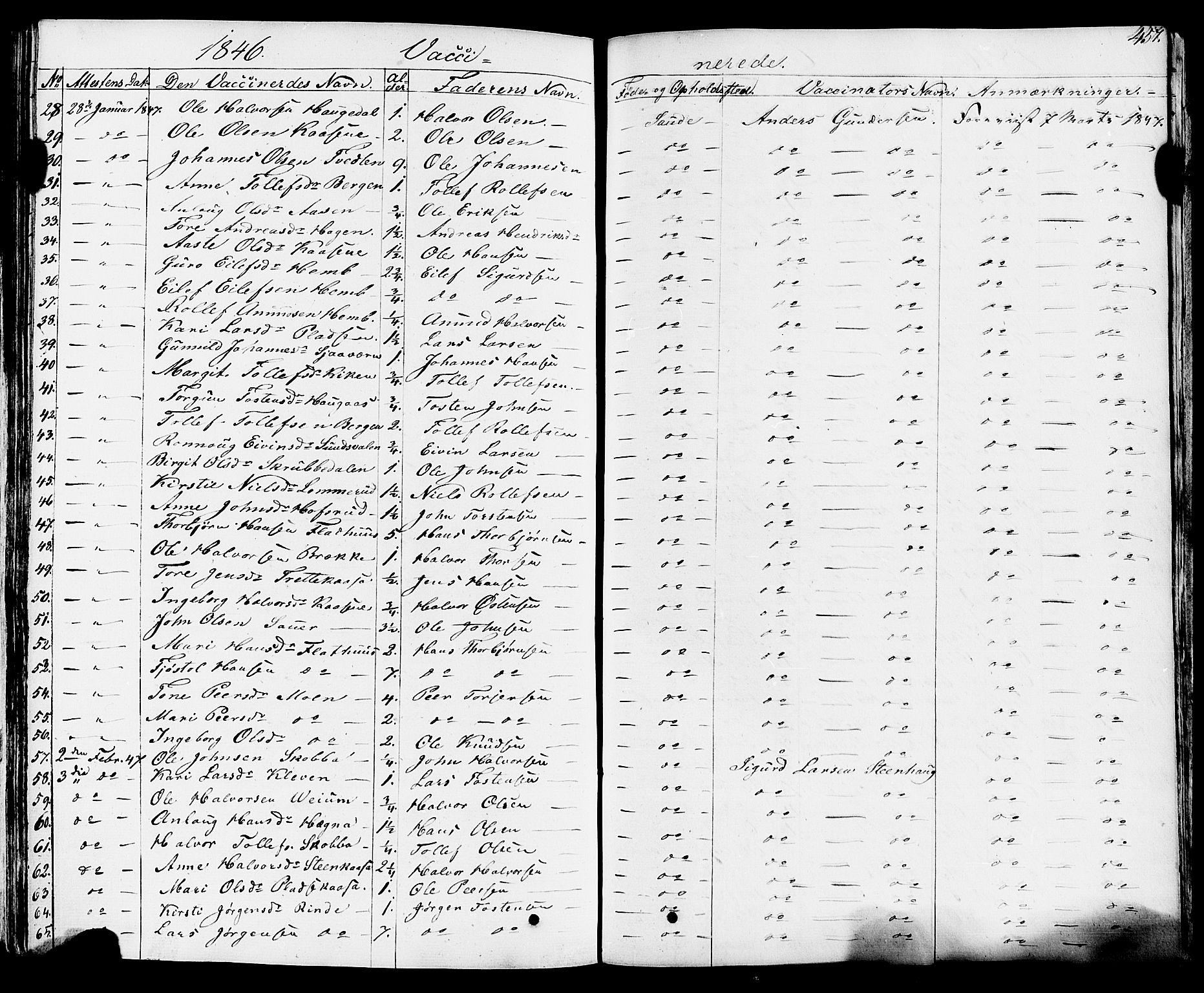 SAKO, Sauherad kirkebøker, F/Fa/L0006: Ministerialbok nr. I 6, 1827-1850, s. 457