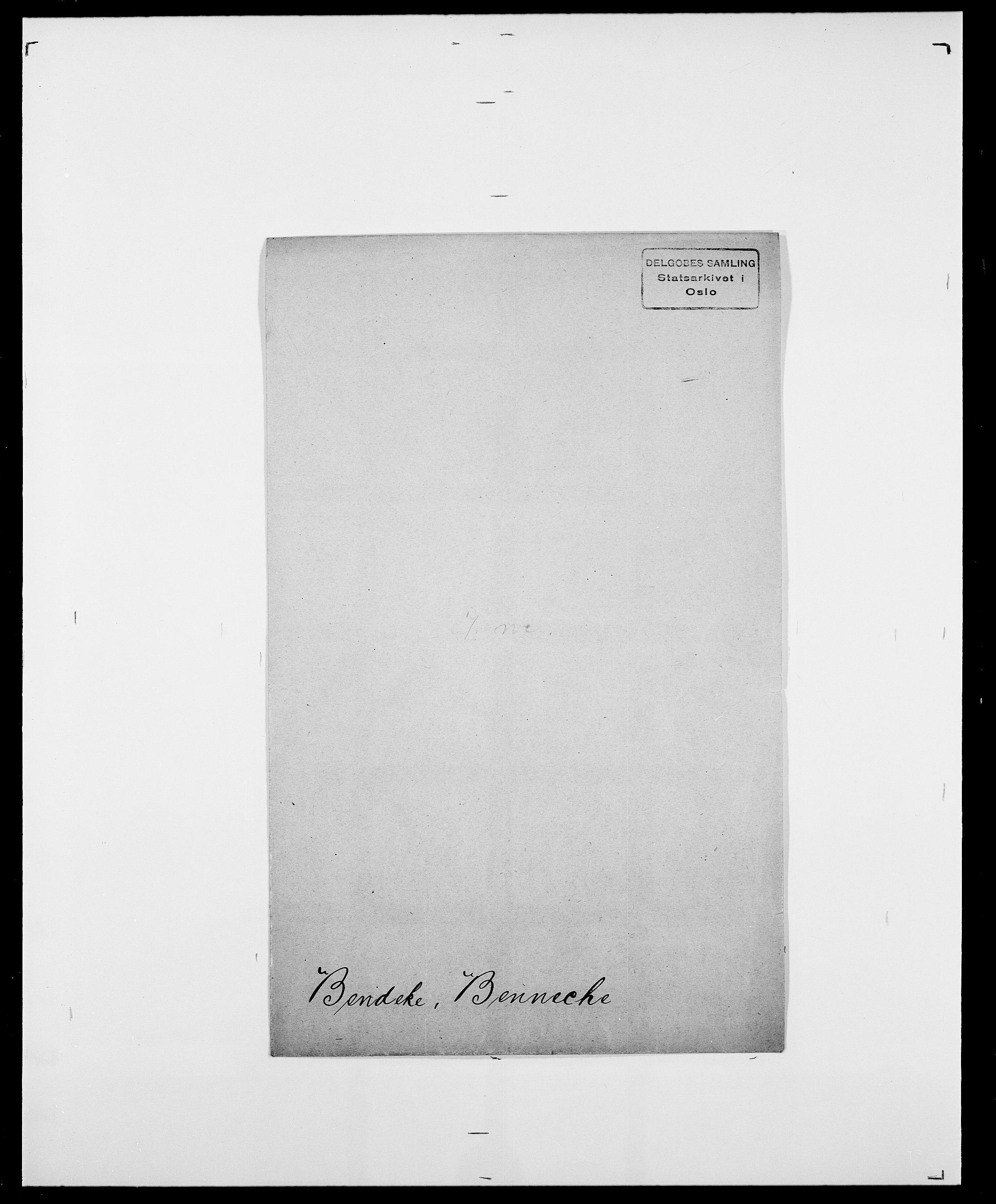 SAO, Delgobe, Charles Antoine - samling, D/Da/L0003: Barca - Bergen, s. 732