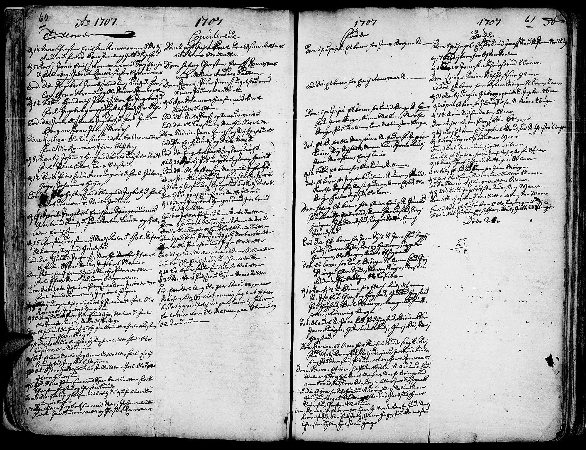 SAH, Ringebu prestekontor, Ministerialbok nr. 1, 1696-1733, s. 60-61