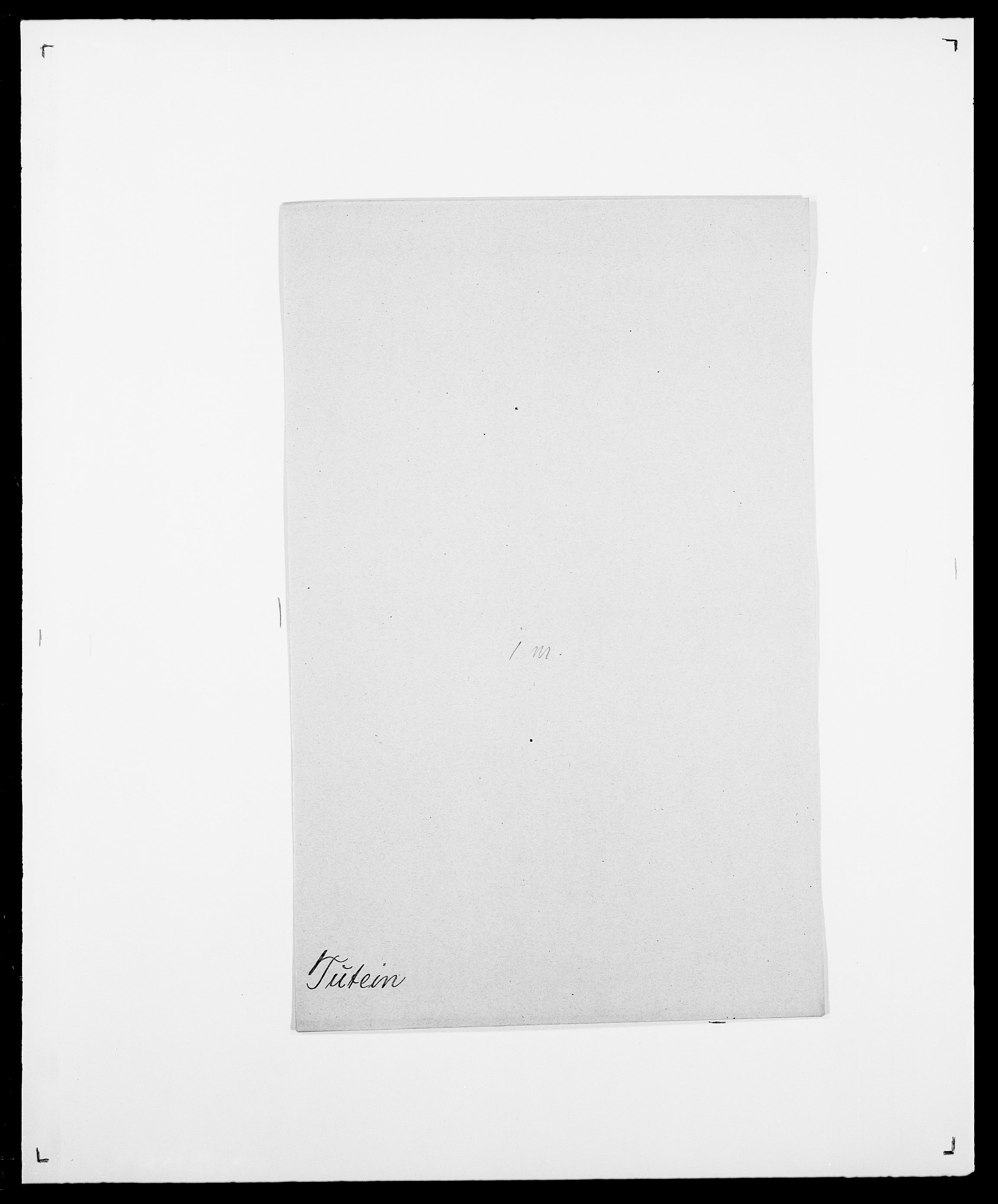 SAO, Delgobe, Charles Antoine - samling, D/Da/L0039: Thorsen - Urup, s. 478