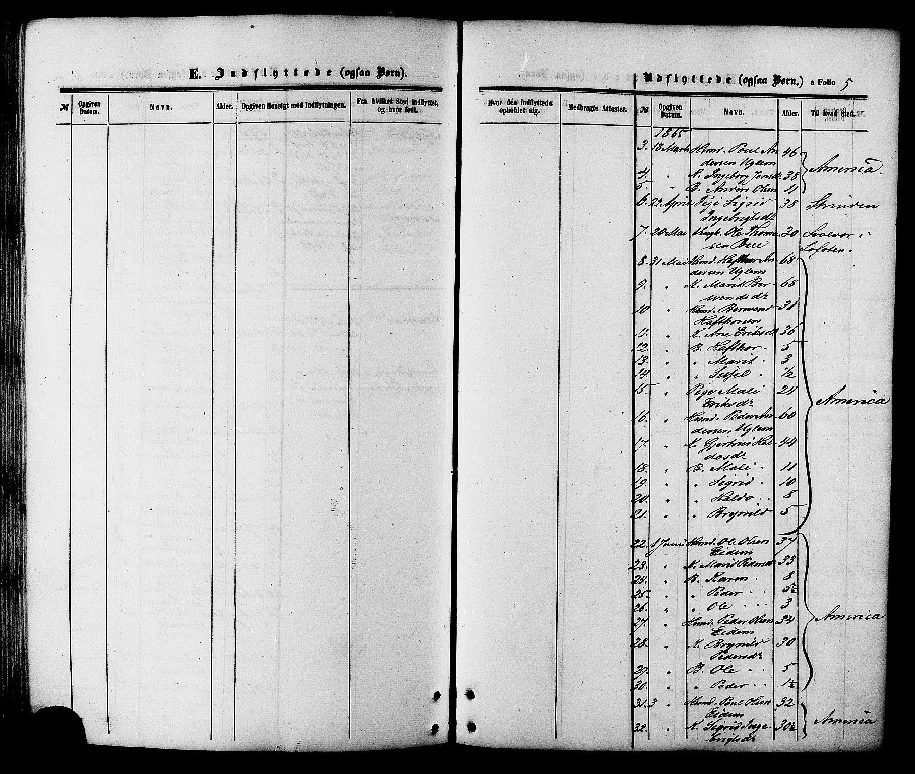 SAT, Ministerialprotokoller, klokkerbøker og fødselsregistre - Sør-Trøndelag, 695/L1147: Ministerialbok nr. 695A07, 1860-1877, s. 5