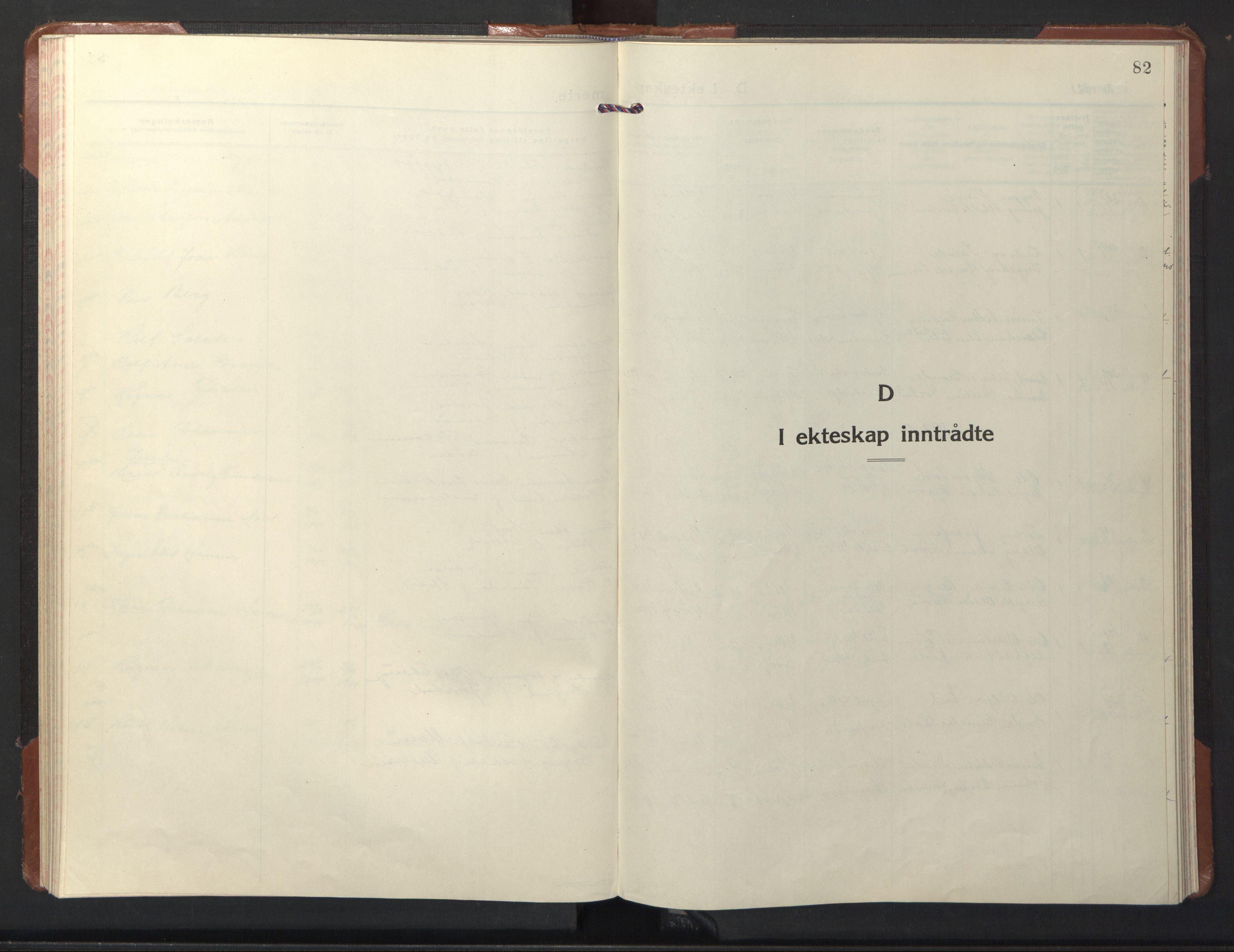 SAT, Ministerialprotokoller, klokkerbøker og fødselsregistre - Nord-Trøndelag, 722/L0227: Klokkerbok nr. 722C03, 1928-1958, s. 82