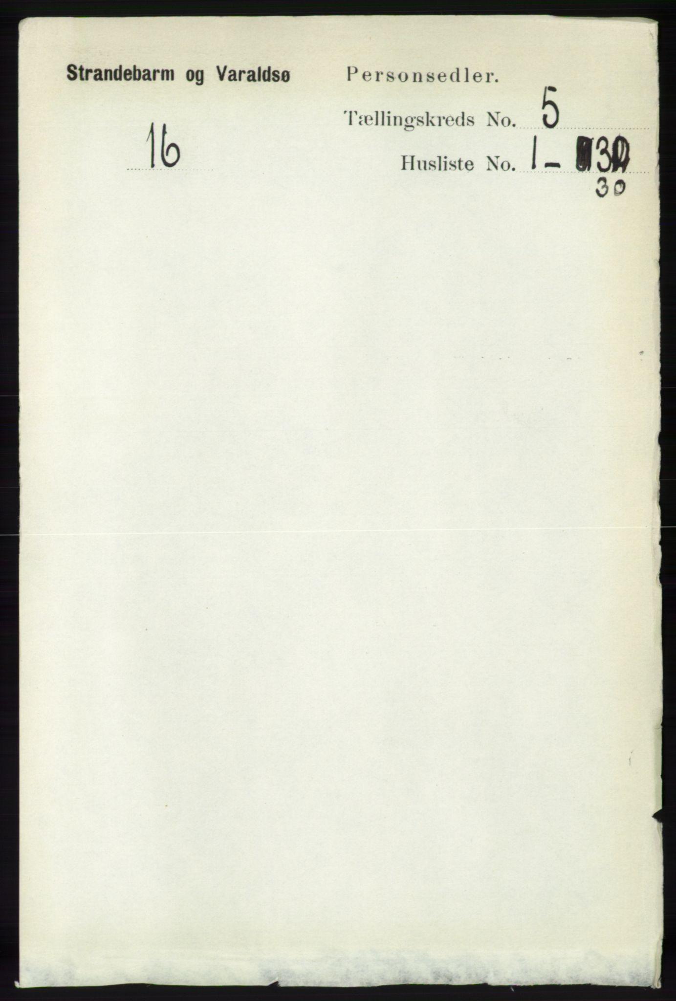 RA, Folketelling 1891 for 1226 Strandebarm og Varaldsøy herred, 1891, s. 1886