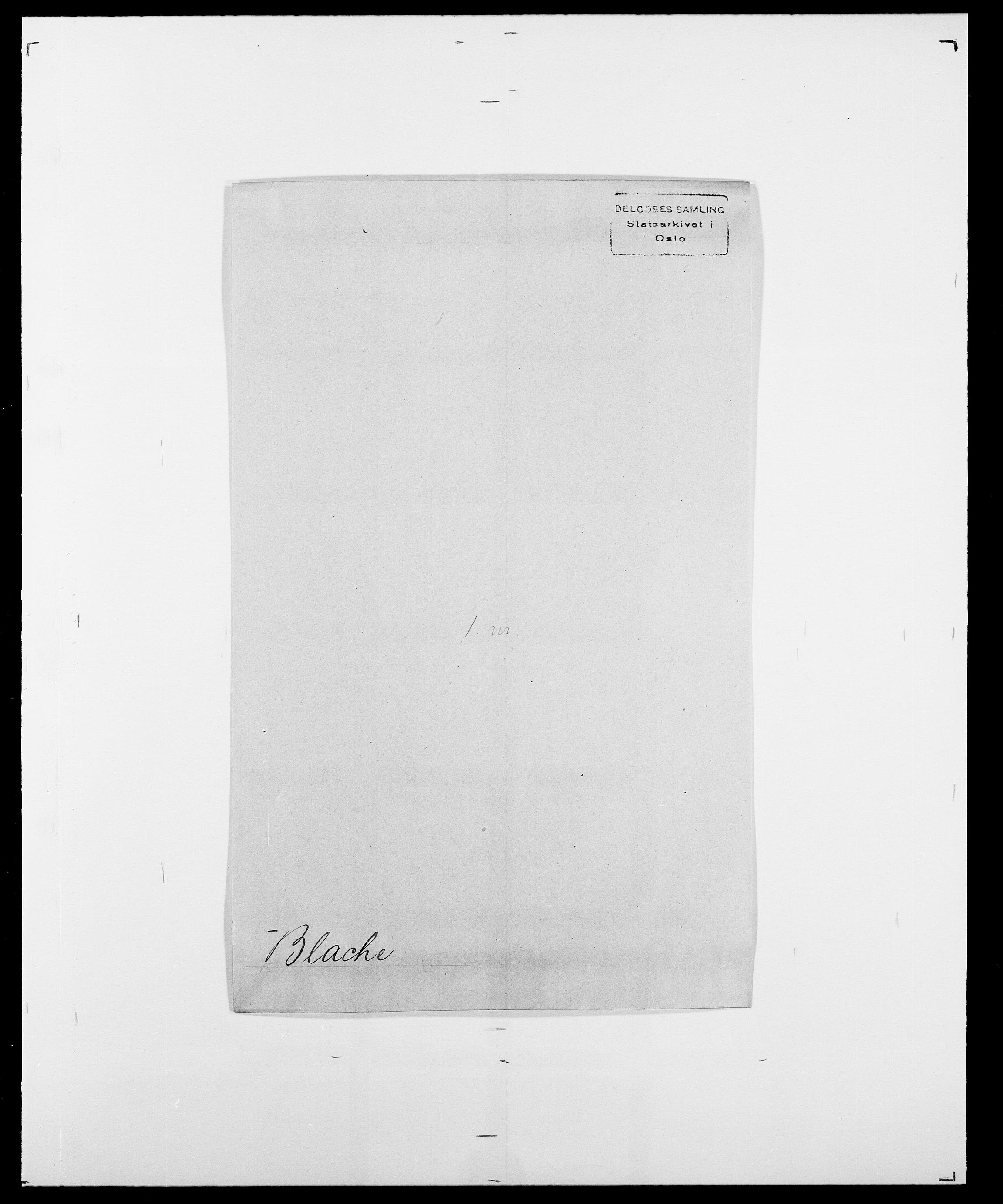 SAO, Delgobe, Charles Antoine - samling, D/Da/L0004: Bergendahl - Blære, s. 515