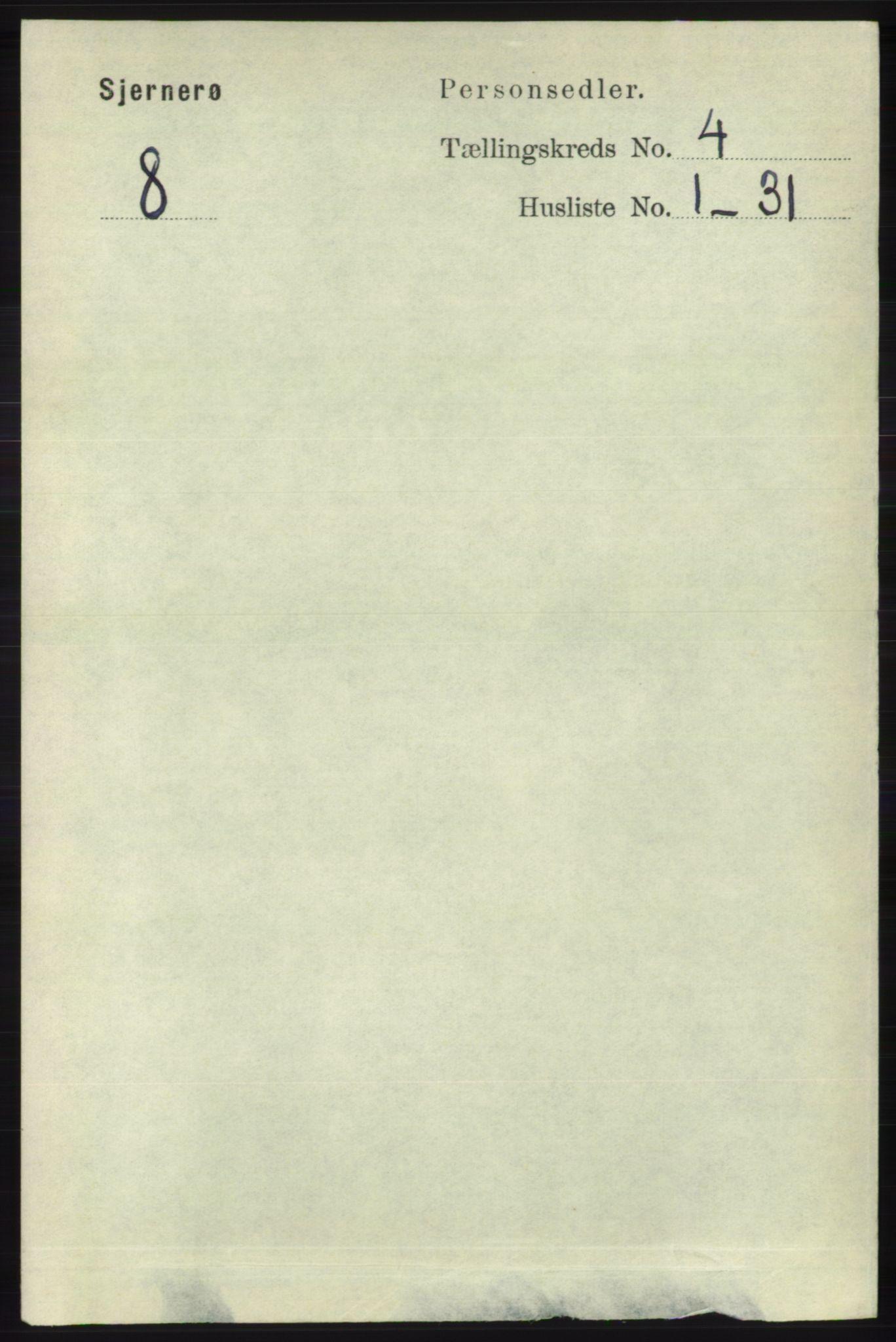 RA, Folketelling 1891 for 1140 Sjernarøy herred, 1891, s. 592
