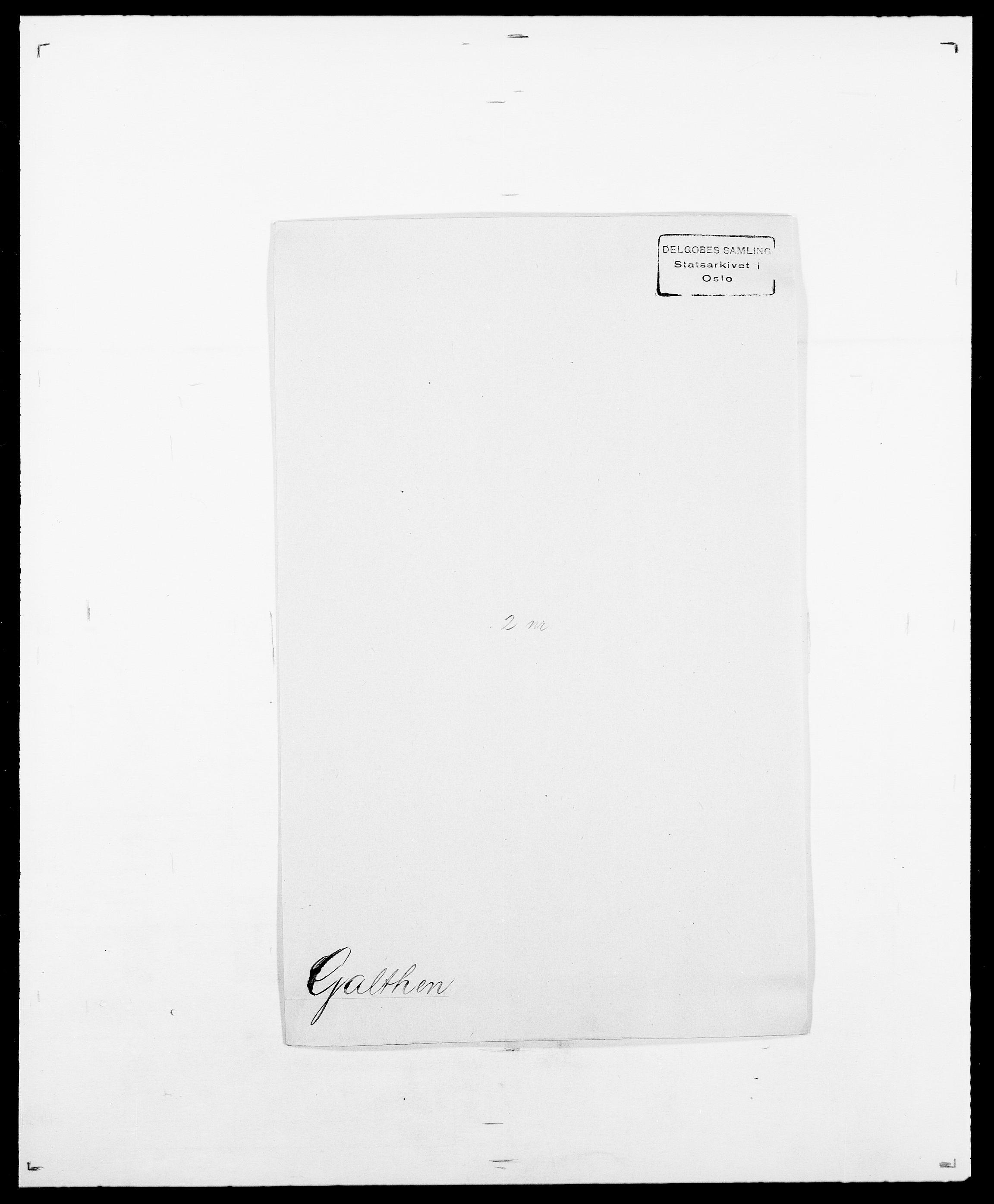SAO, Delgobe, Charles Antoine - samling, D/Da/L0013: Forbos - Geving, s. 424
