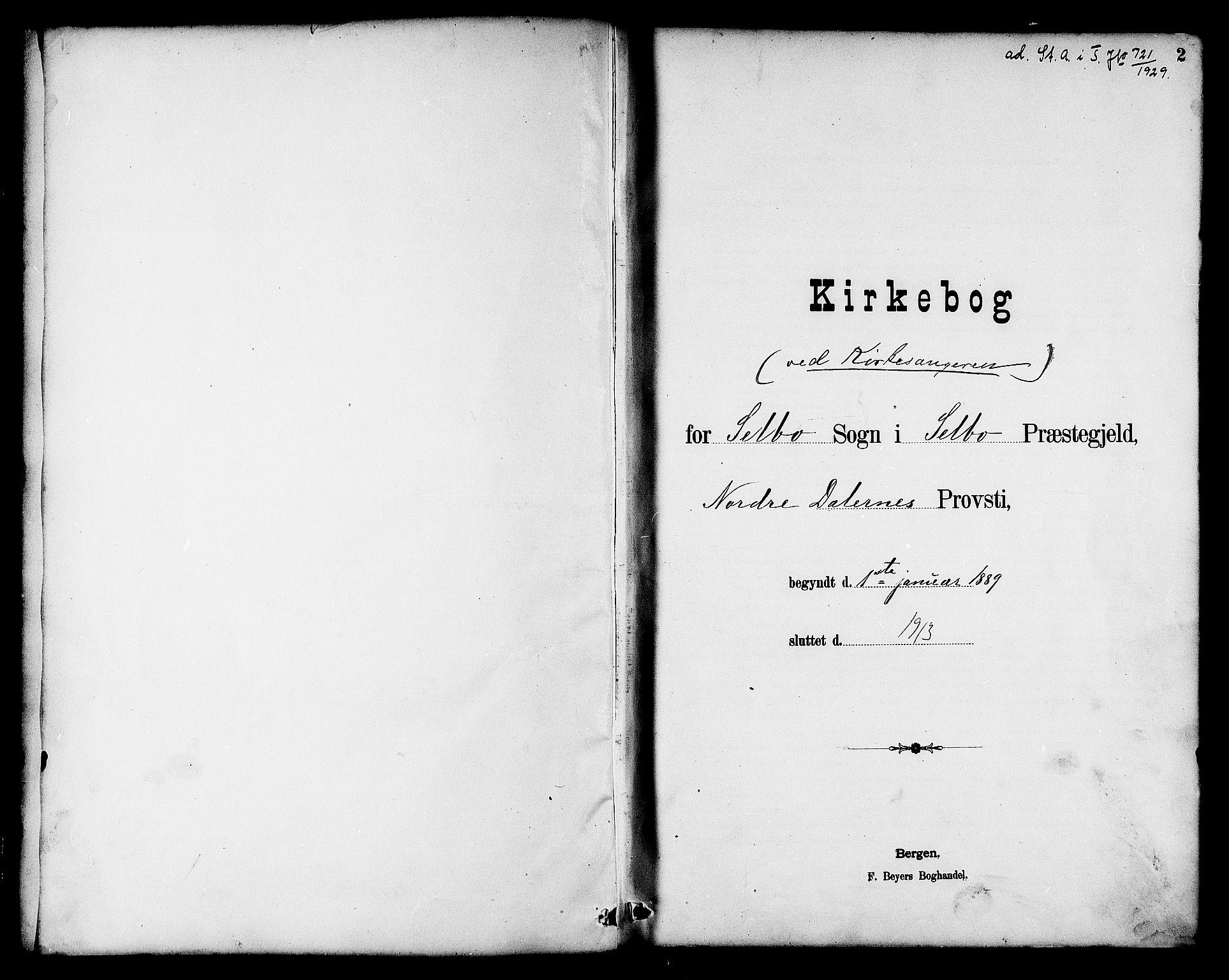 SAT, Ministerialprotokoller, klokkerbøker og fødselsregistre - Sør-Trøndelag, 695/L1157: Klokkerbok nr. 695C08, 1889-1913, s. 2
