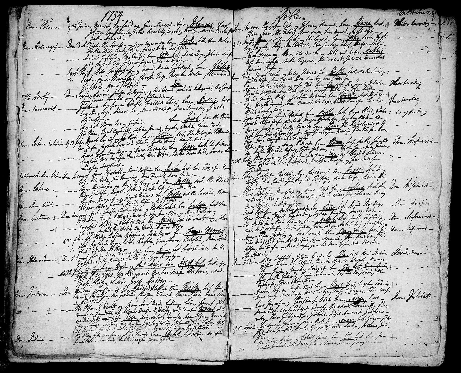 SAO, Rakkestad prestekontor Kirkebøker, F/Fa/L0003: Ministerialbok nr. I 3, 1752-1777, s. 9