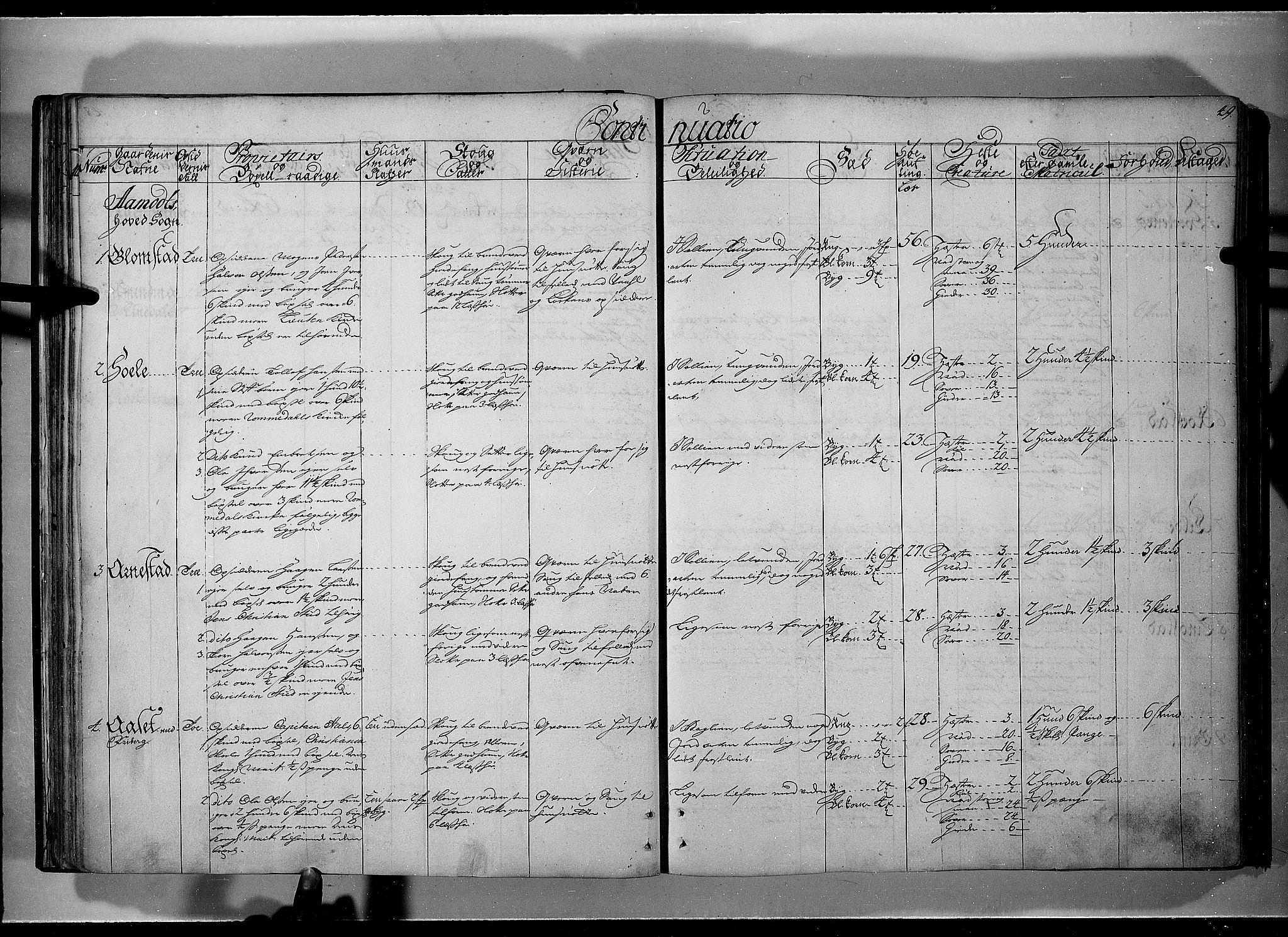 RA, Rentekammeret inntil 1814, Realistisk ordnet avdeling, N/Nb/Nbf/L0101: Solør, Østerdalen og Odal eksaminasjonsprotokoll, 1723, s. 48b-49a
