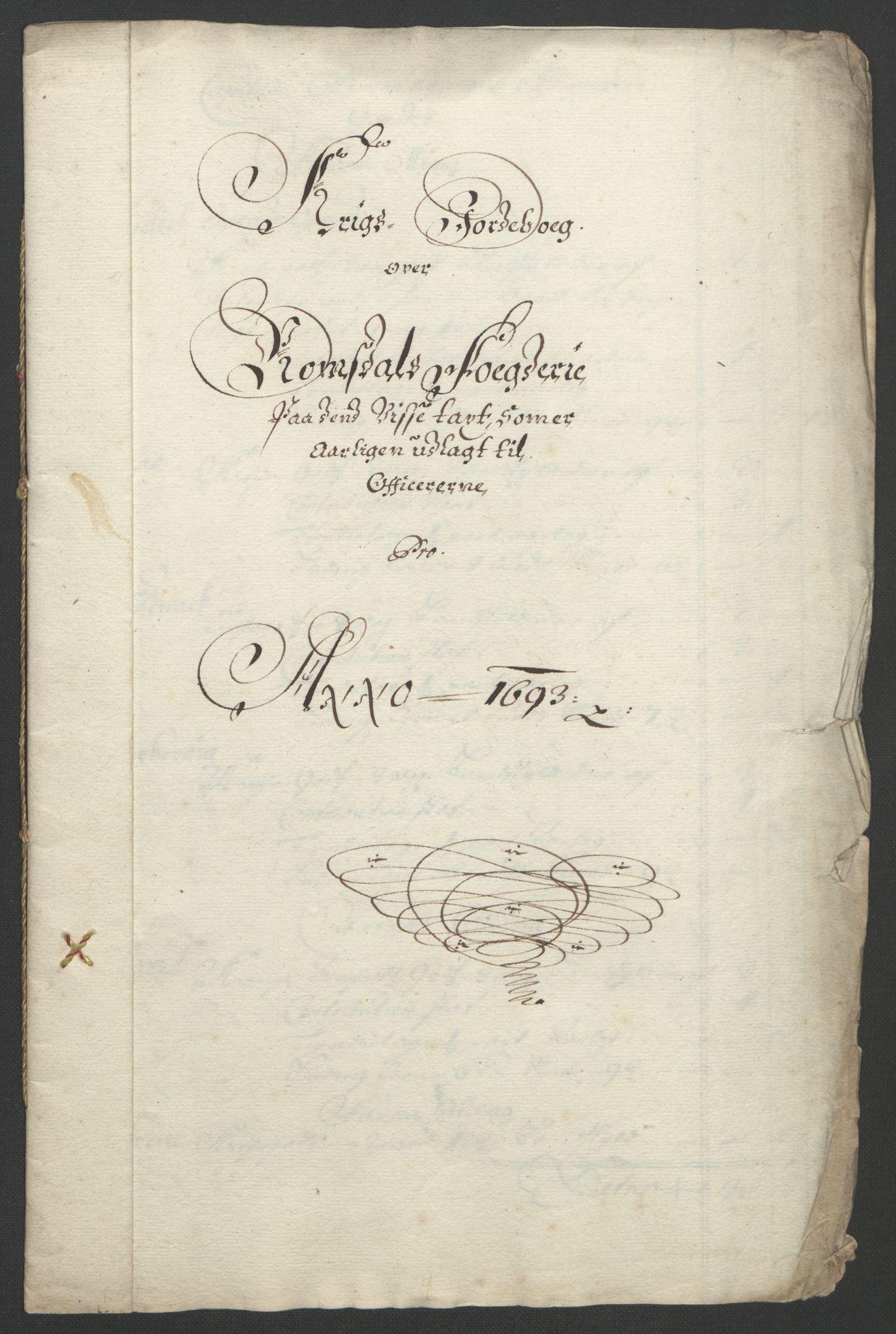 RA, Rentekammeret inntil 1814, Reviderte regnskaper, Fogderegnskap, R55/L3651: Fogderegnskap Romsdal, 1693-1694, s. 145