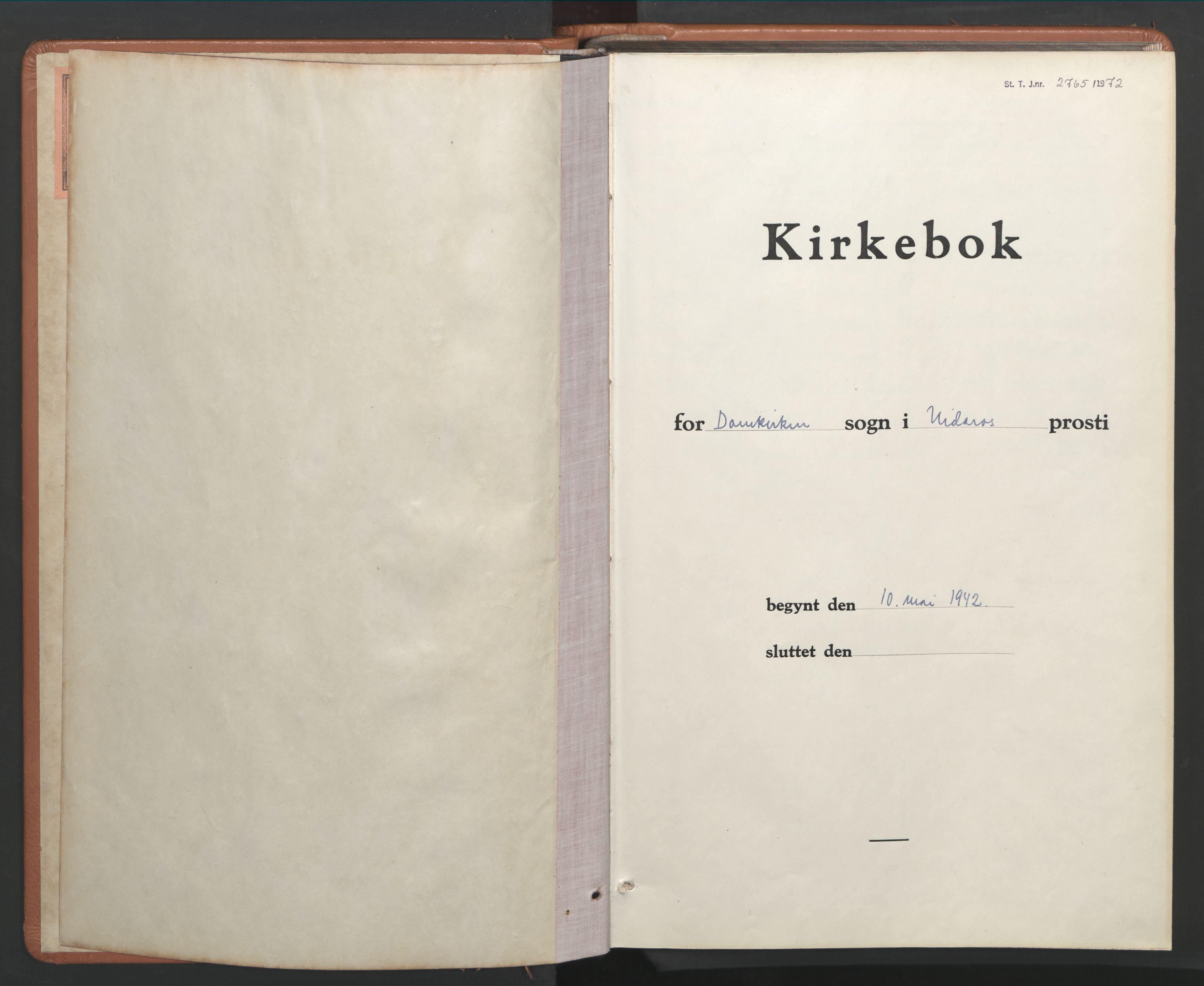 SAT, Ministerialprotokoller, klokkerbøker og fødselsregistre - Sør-Trøndelag, 601/L0102: Klokkerbok nr. 601C20, 1942-1946
