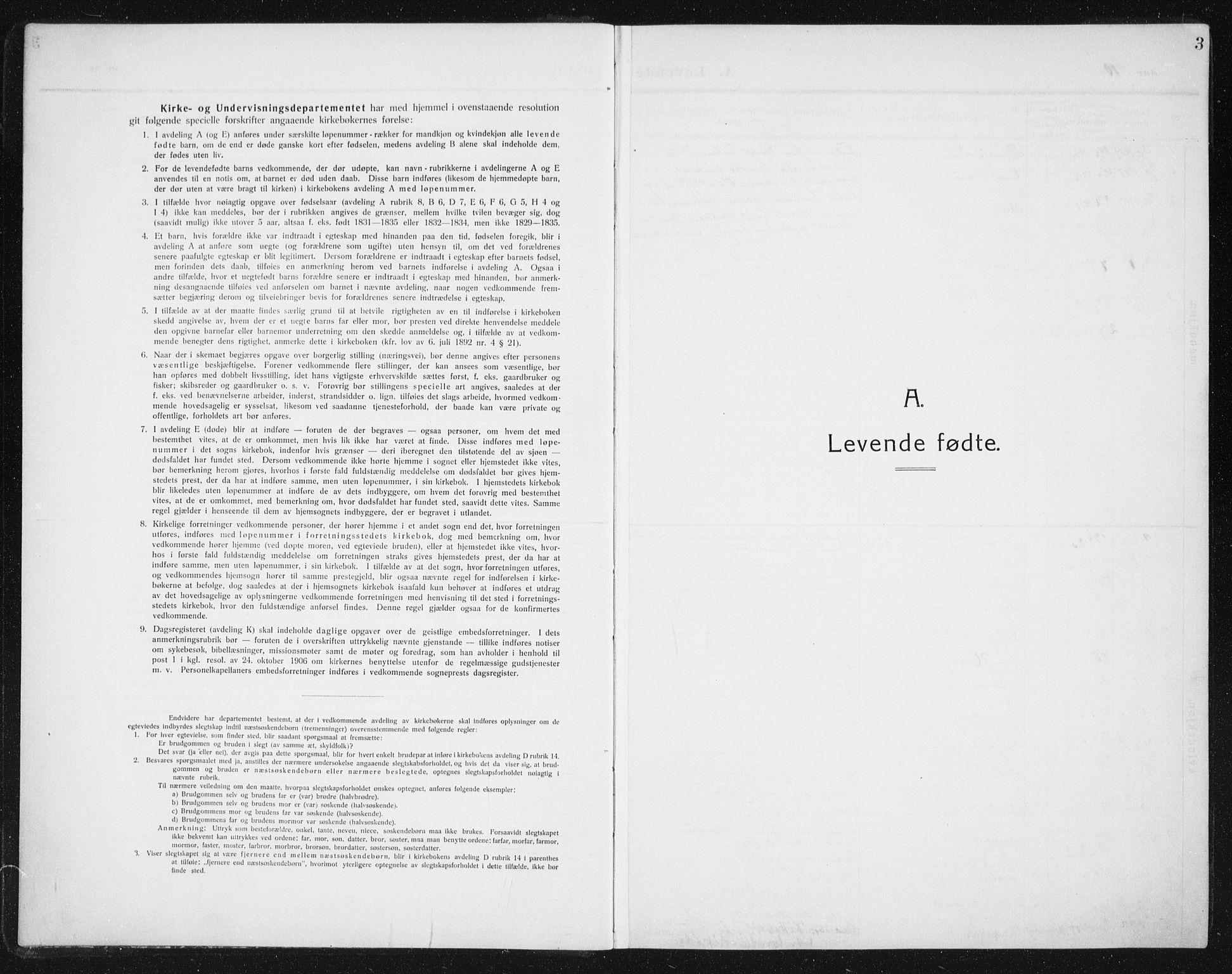 SAT, Ministerialprotokoller, klokkerbøker og fødselsregistre - Sør-Trøndelag, 652/L0654: Klokkerbok nr. 652C02, 1910-1937, s. 3