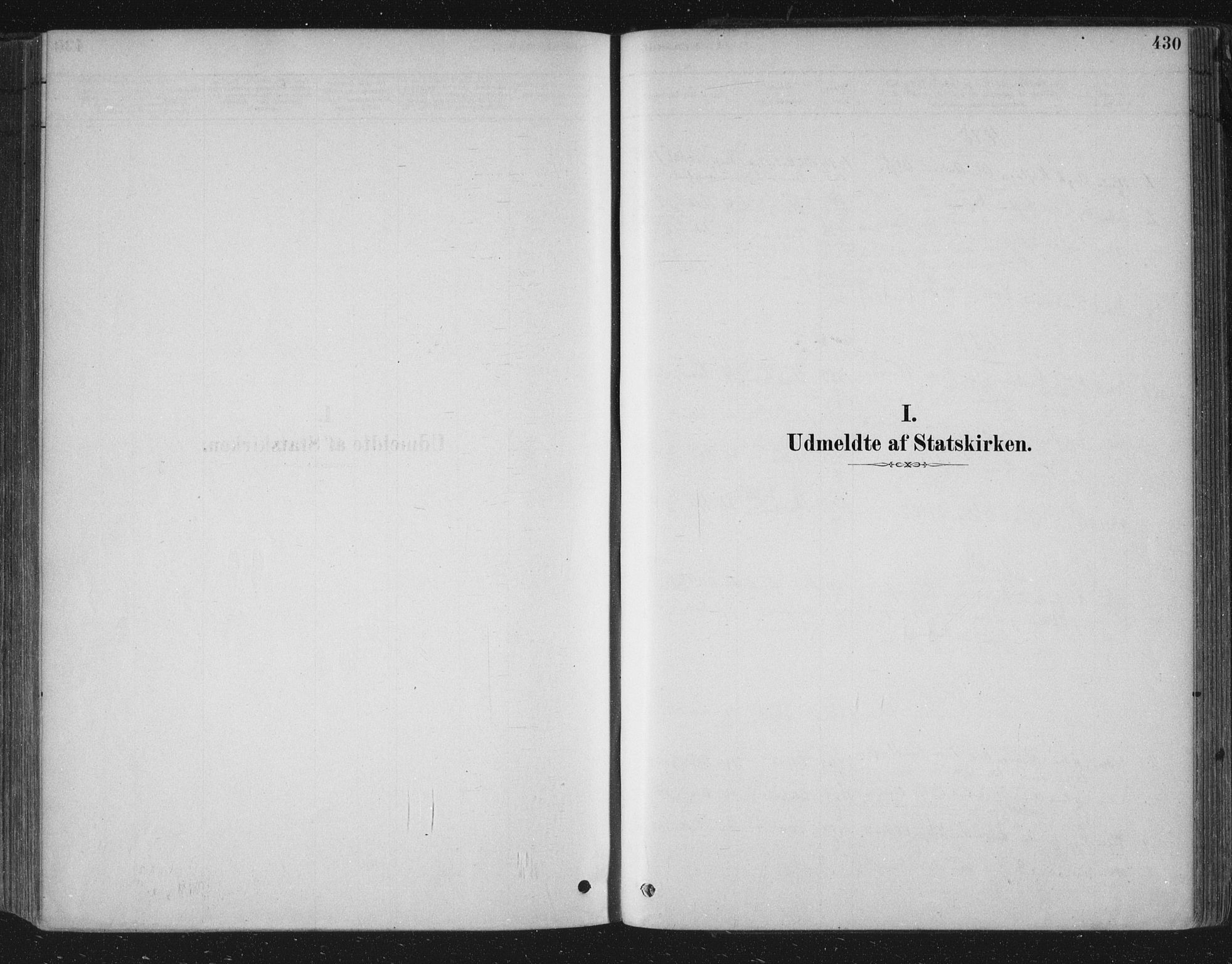 SAKO, Bamble kirkebøker, F/Fa/L0007: Ministerialbok nr. I 7, 1878-1888, s. 430