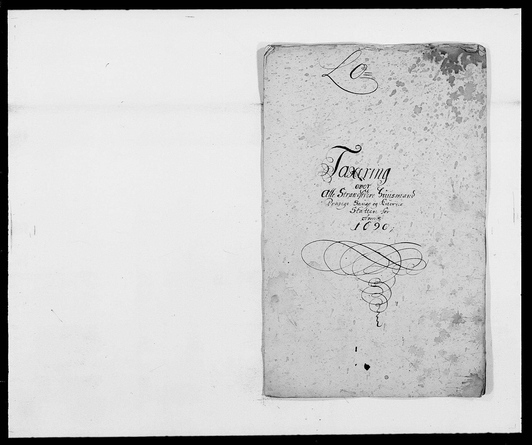 RA, Rentekammeret inntil 1814, Reviderte regnskaper, Fogderegnskap, R42/L2543: Mandal fogderi, 1688-1691, s. 208