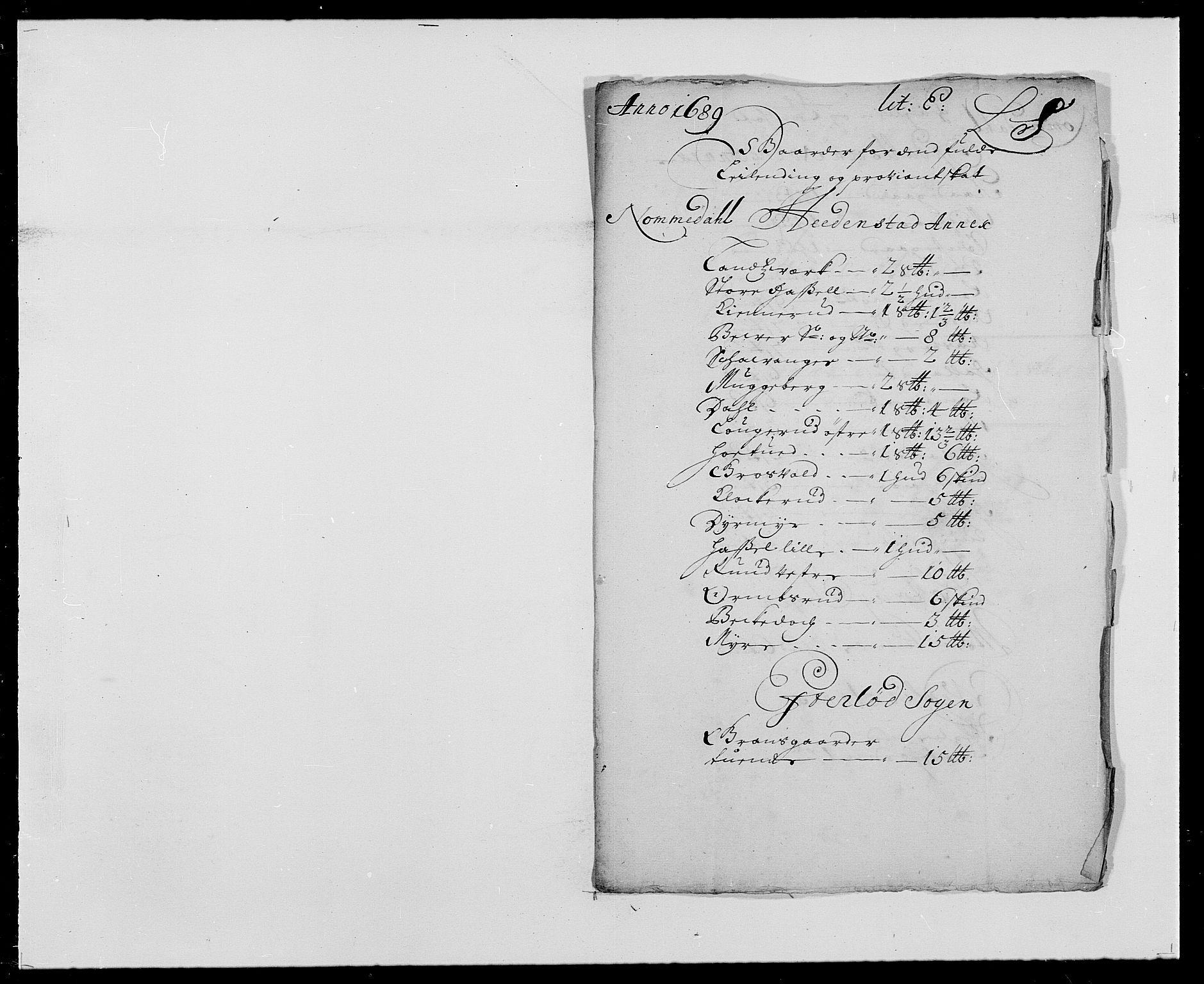 RA, Rentekammeret inntil 1814, Reviderte regnskaper, Fogderegnskap, R24/L1573: Fogderegnskap Numedal og Sandsvær, 1687-1691, s. 378