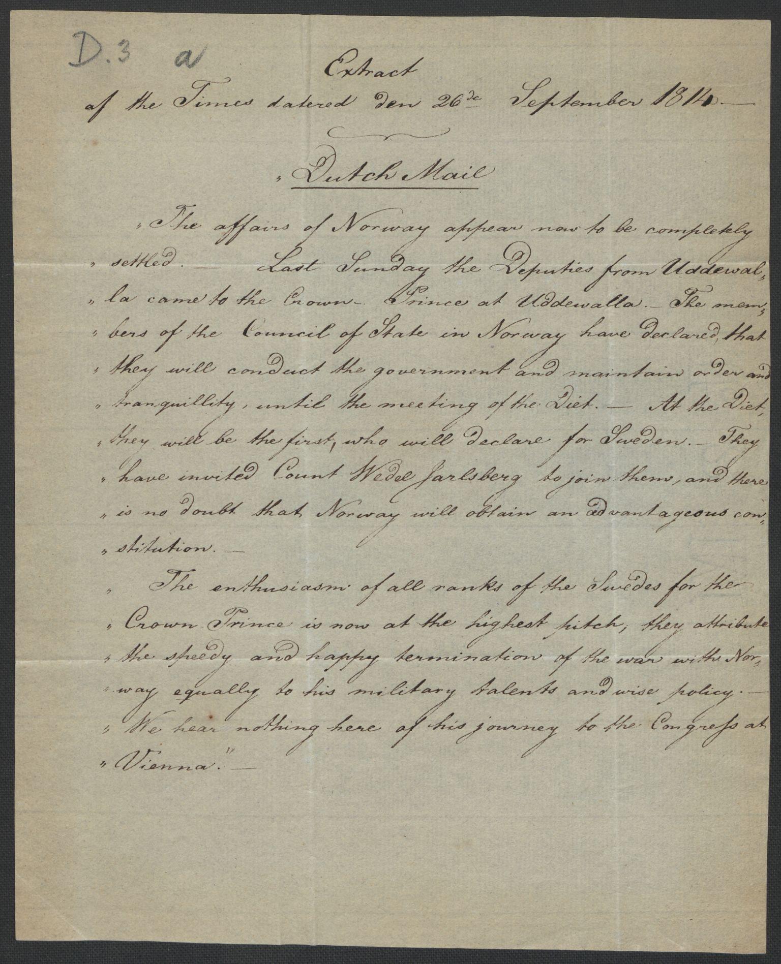 RA, Christie, Wilhelm Frimann Koren, F/L0004, 1814, s. 199