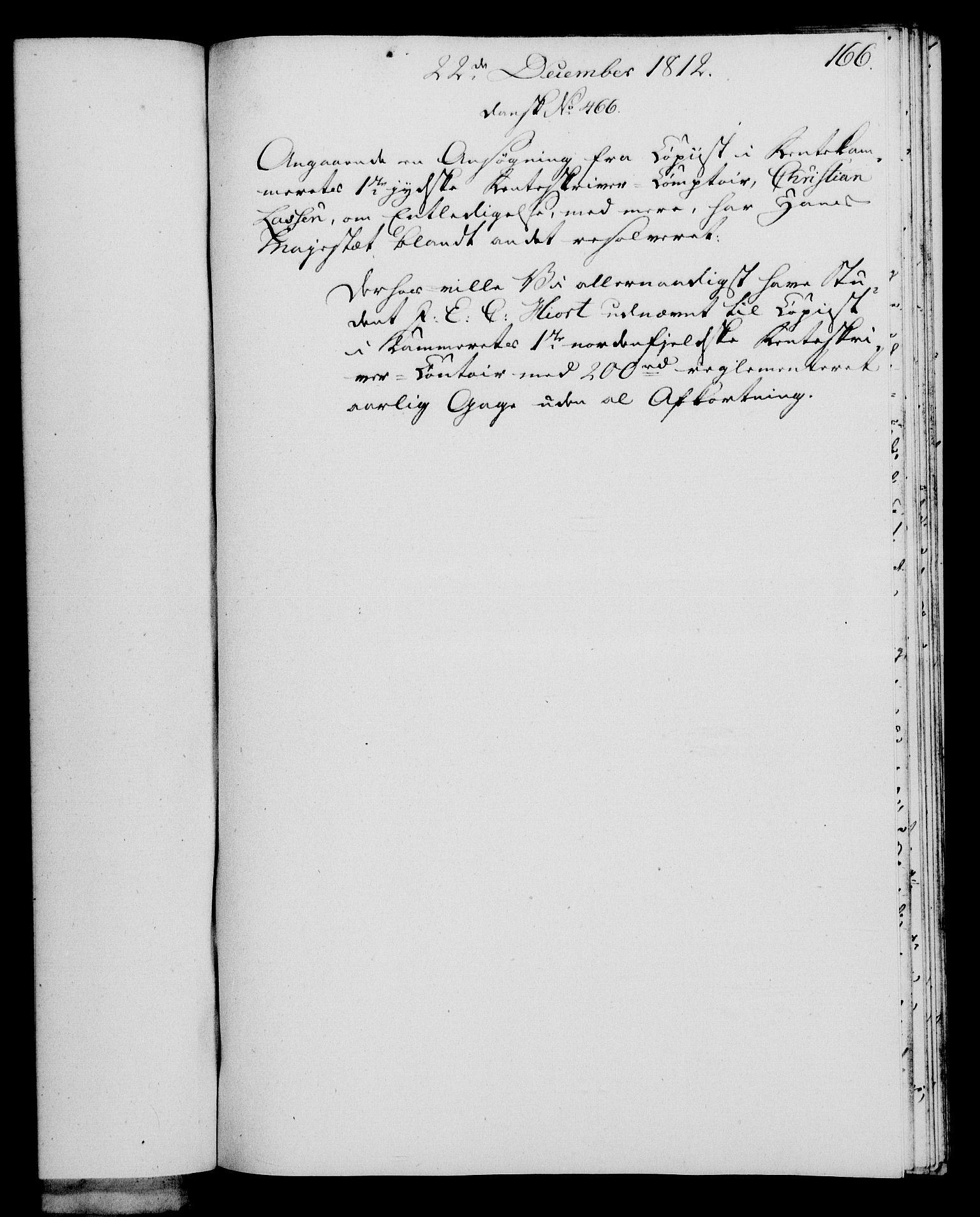 RA, Rentekammeret, Kammerkanselliet, G/Gf/Gfa/L0094: Norsk relasjons- og resolusjonsprotokoll (merket RK 52.94), 1812, s. 631