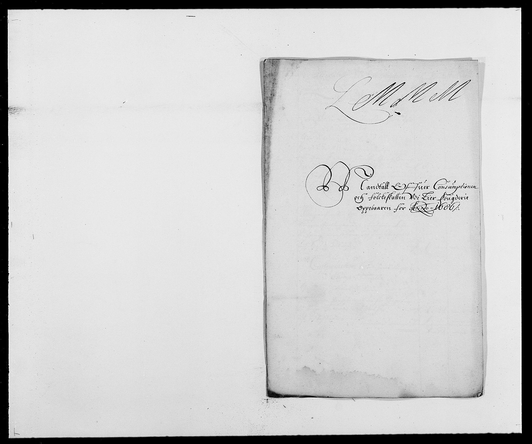 RA, Rentekammeret inntil 1814, Reviderte regnskaper, Fogderegnskap, R27/L1687: Fogderegnskap Lier, 1678-1686, s. 273