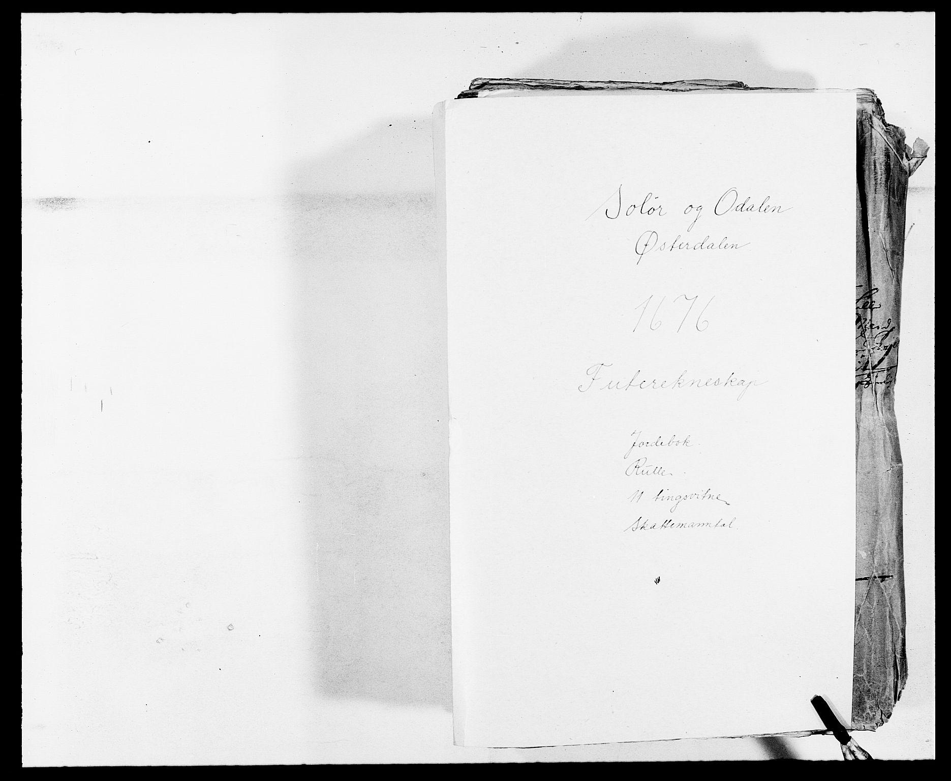 RA, Rentekammeret inntil 1814, Reviderte regnskaper, Fogderegnskap, R13/L0813: Fogderegnskap Solør, Odal og Østerdal, 1677, s. 1