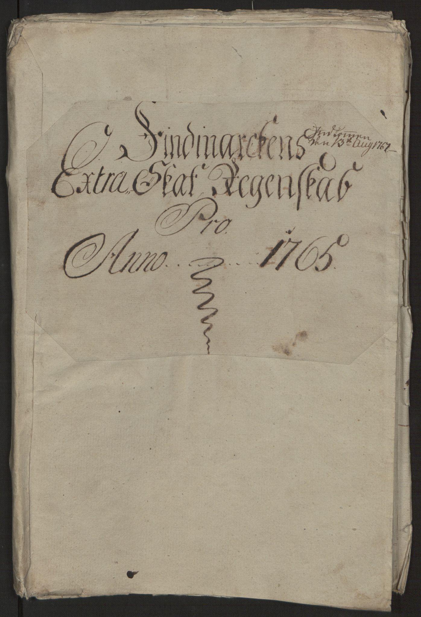 RA, Rentekammeret inntil 1814, Reviderte regnskaper, Fogderegnskap, R69/L4910: Ekstraskatten  Finnmark/Vardøhus, 1762-1772, s. 123